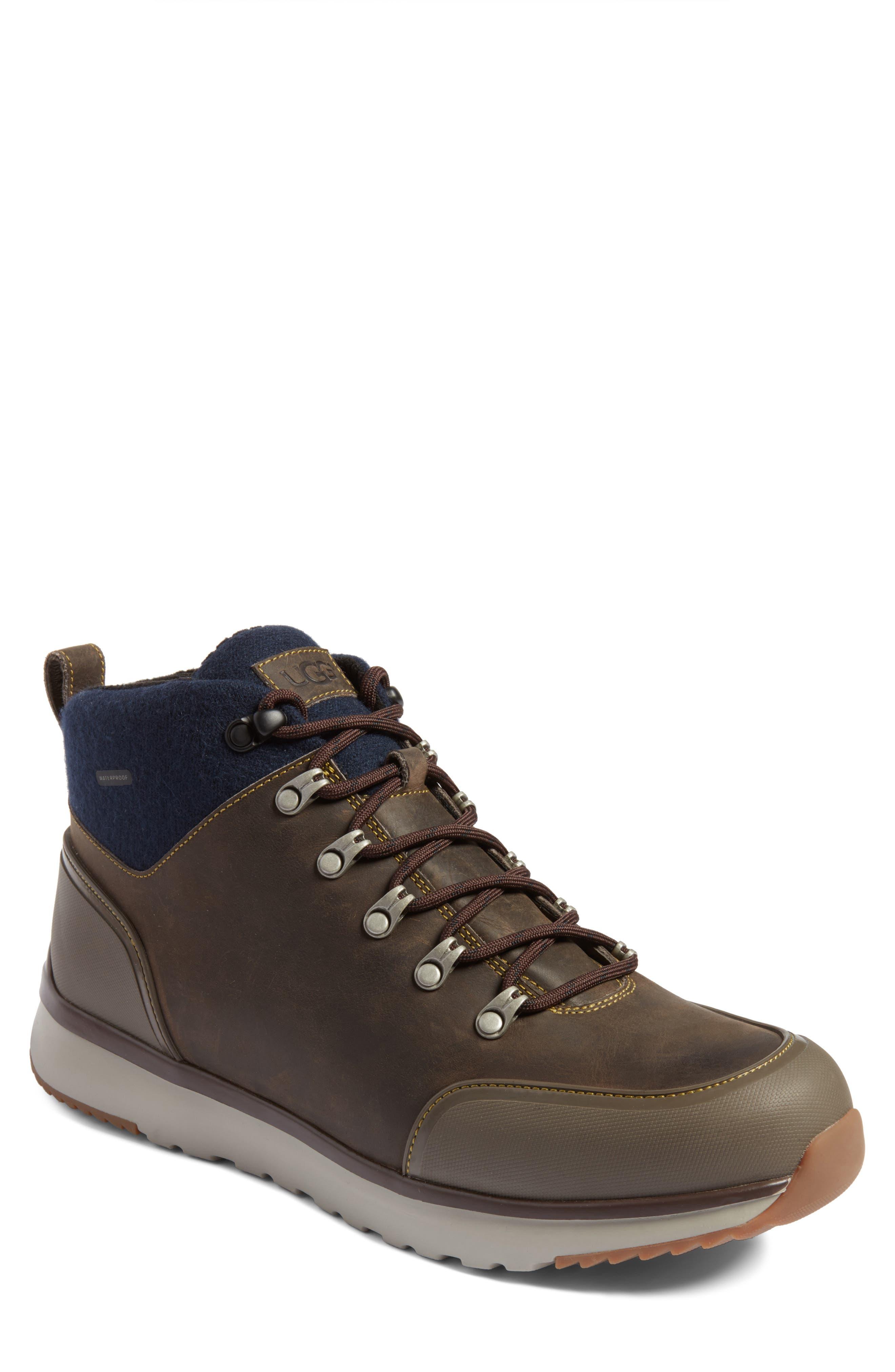 Ugg Olivert Hiking Waterproof Boot, Grey