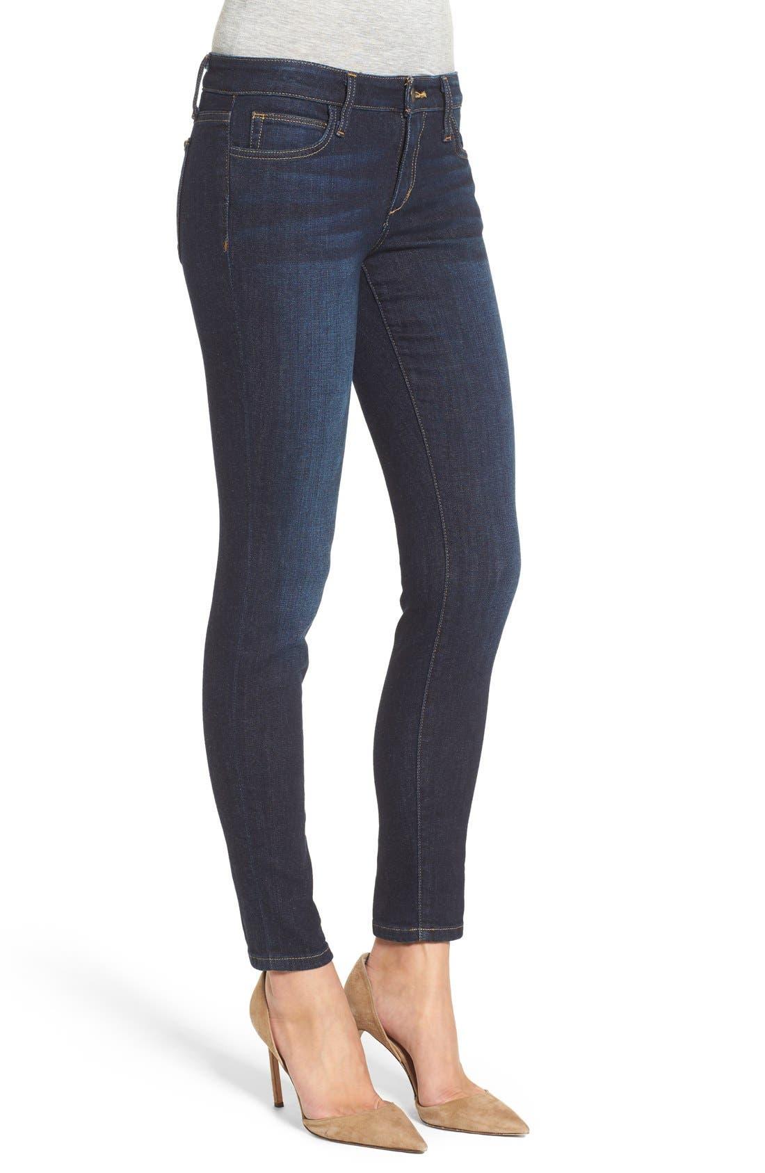 JOE'S, Ankle Skinny Jeans, Alternate thumbnail 4, color, 410
