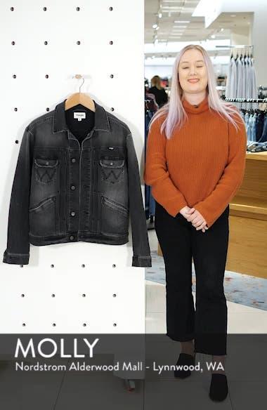 Heritage Pleated Denim Jacket, sales video thumbnail