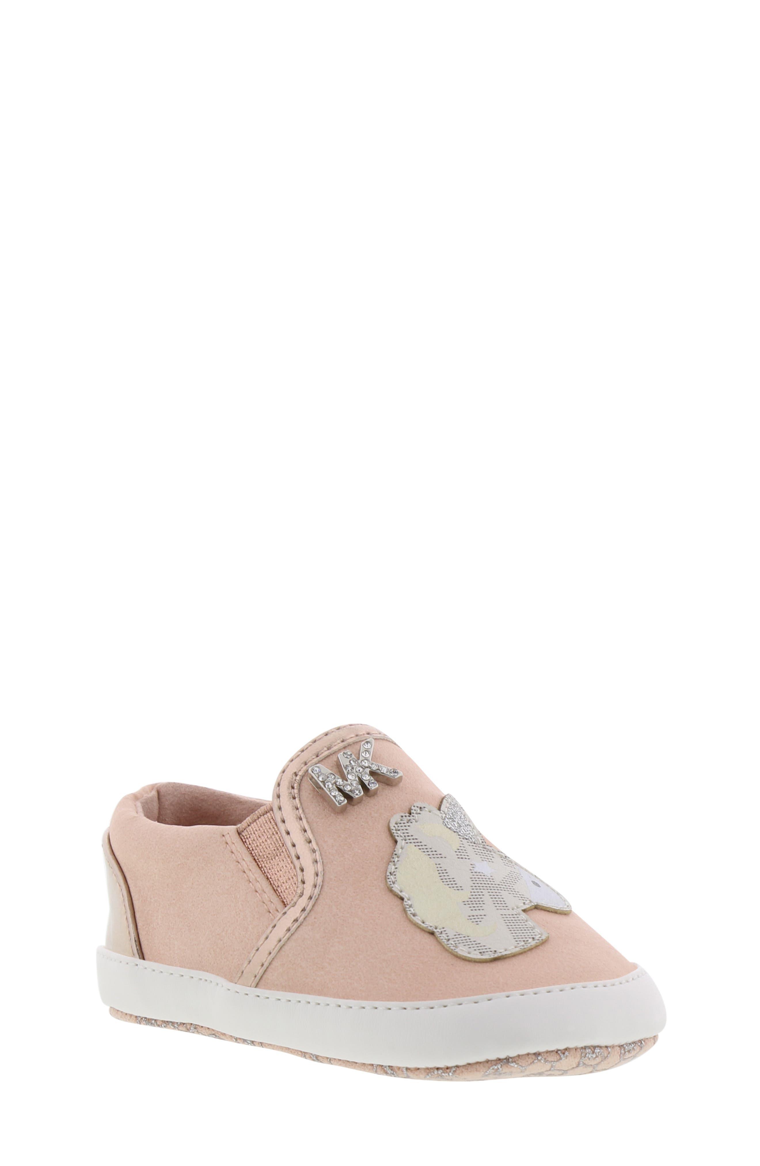 MICHAEL MICHAEL KORS, Magic Slip-On Sneaker, Main thumbnail 1, color, BLUSH