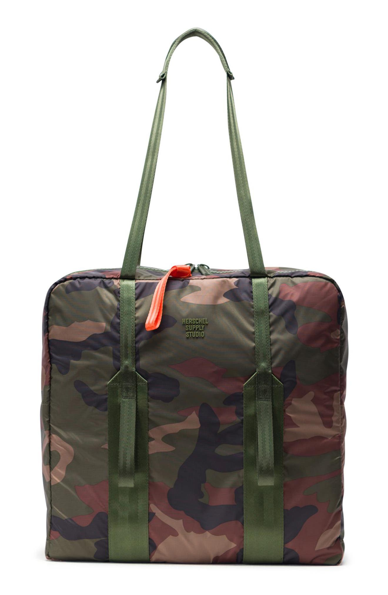 HERSCHEL SUPPLY CO. HS7 Studio Tote, Main, color, WOODLAND CAMO