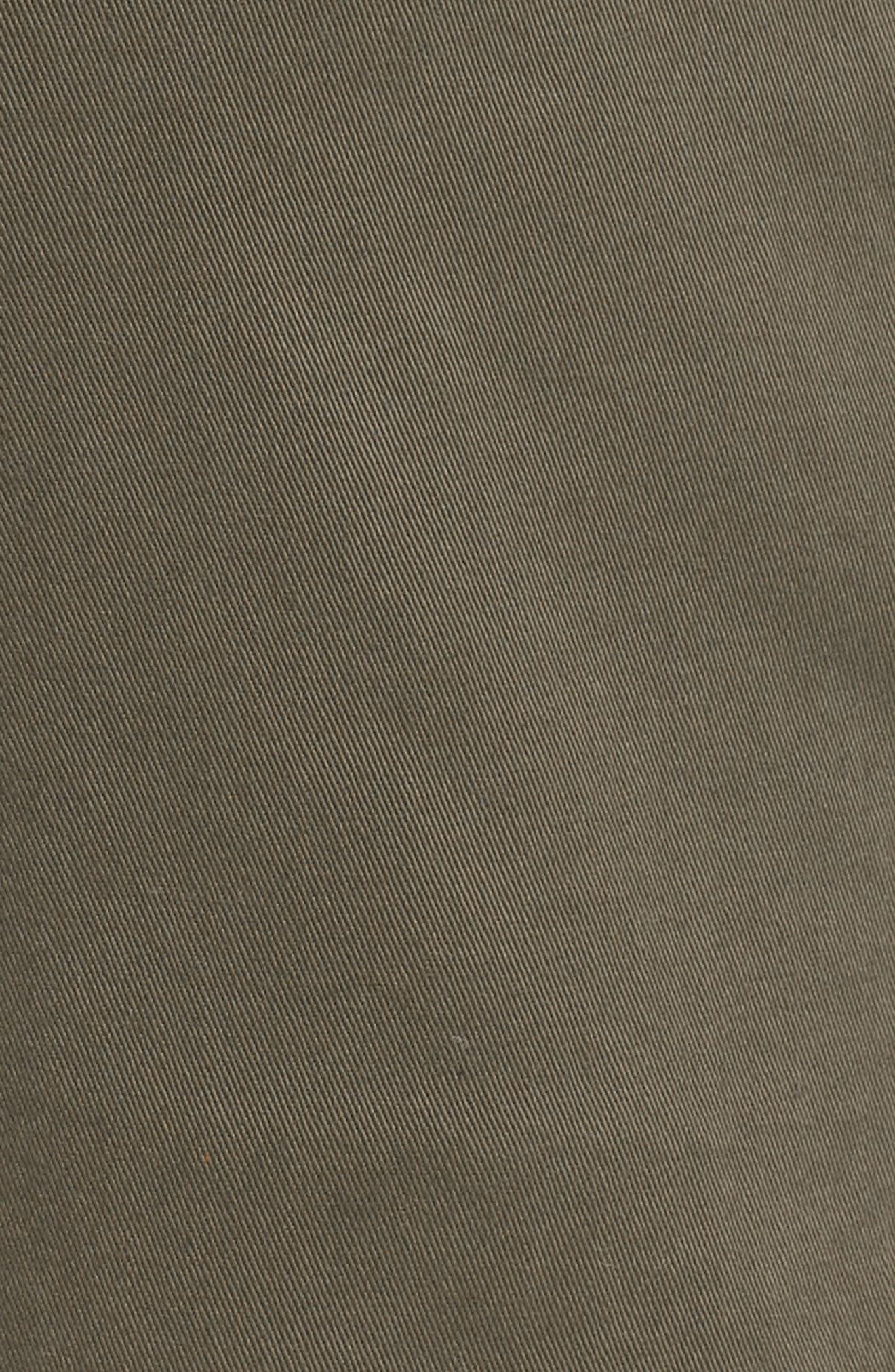 CASLON<SUP>®</SUP>, Utility Shorts, Alternate thumbnail 5, color, OLIVE SARMA