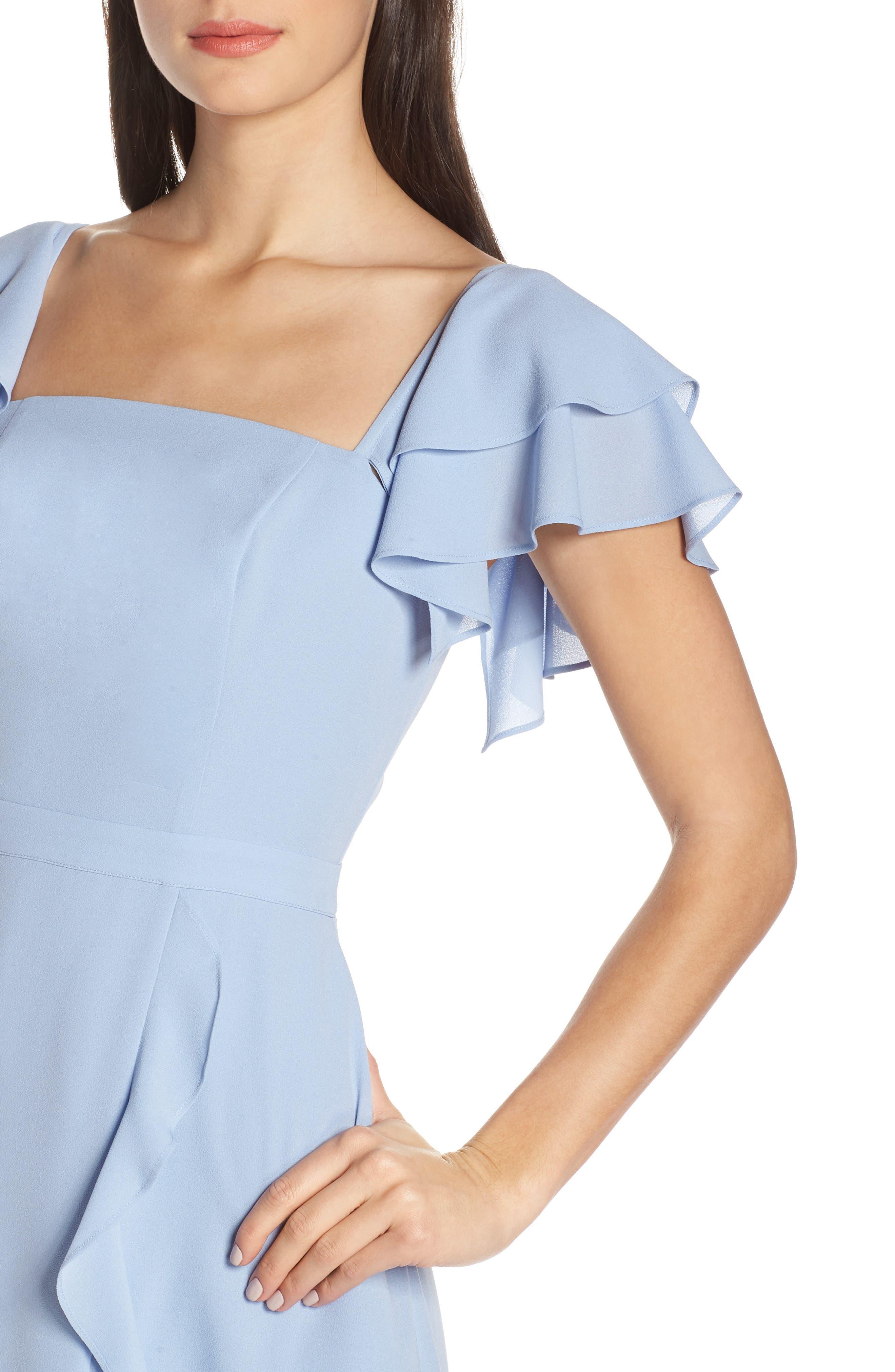 ALI & JAY, Terrace Time Asymmetrical Maxi Dress, Alternate thumbnail 5, color, 400