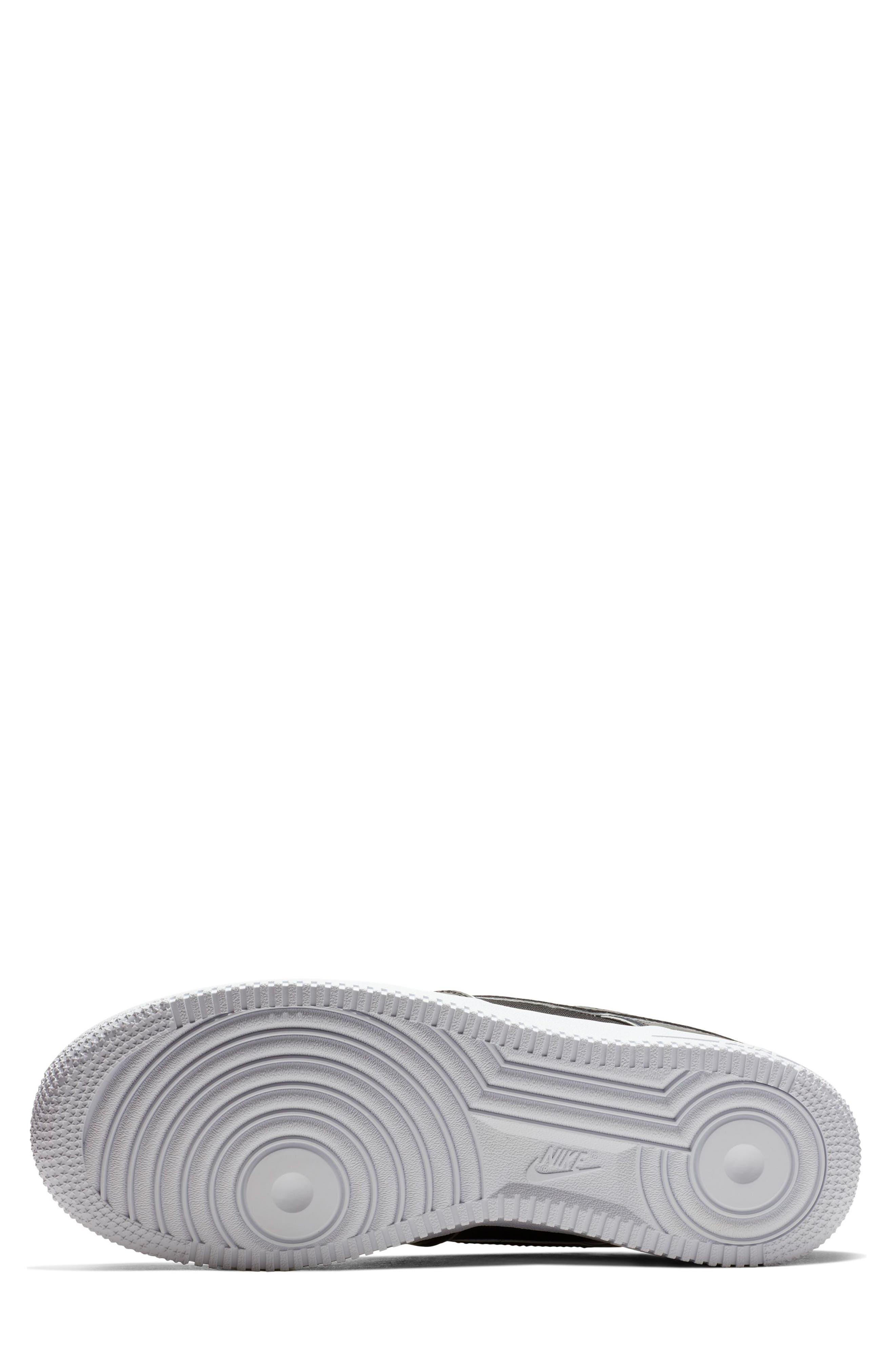 NIKE, Air Force 1 '07 LV8 4 Sneaker, Alternate thumbnail 4, color, 001