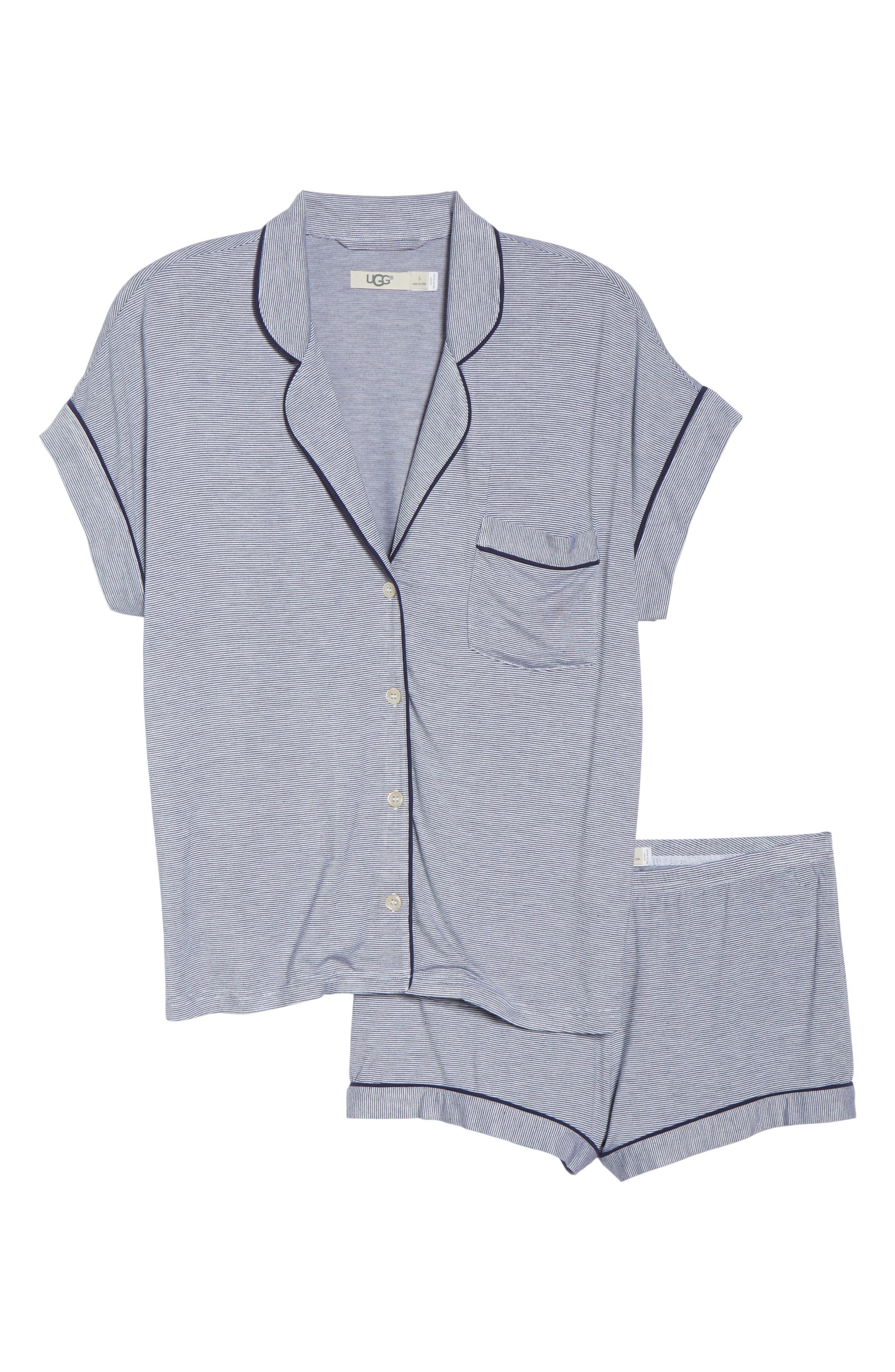UGG<SUP>®</SUP>, Amelia Short Pajamas, Alternate thumbnail 6, color, 411