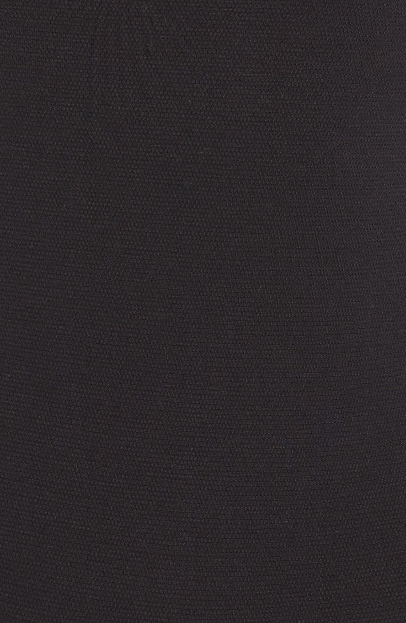 YUMMIE, Thong Bodysuit, Alternate thumbnail 5, color, BLACK