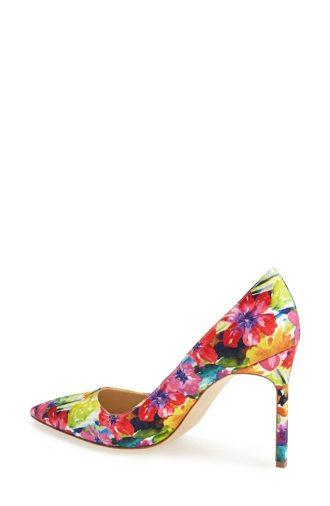 MANOLO BLAHNIK, 'BB' Pump, Alternate thumbnail 5, color, 650