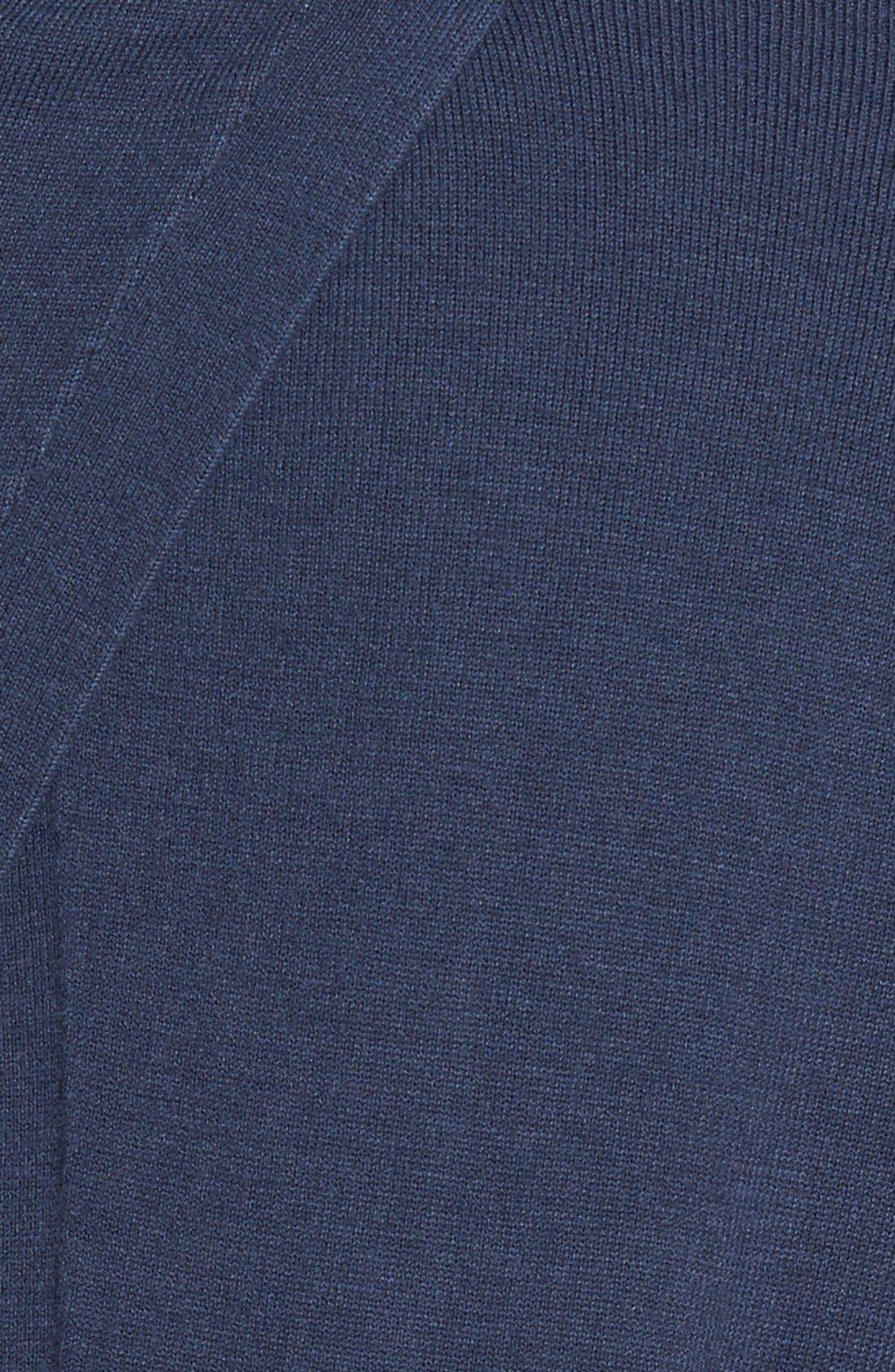 CHELSEA28, Pleated Hem Sweater, Alternate thumbnail 7, color, 410