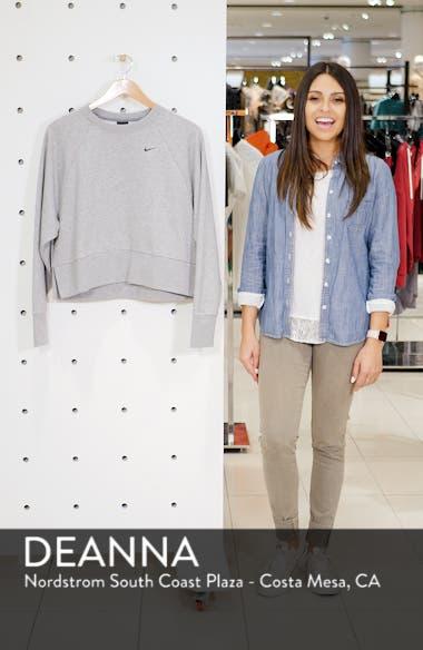 Dry Cropped Training Sweatshirt, sales video thumbnail