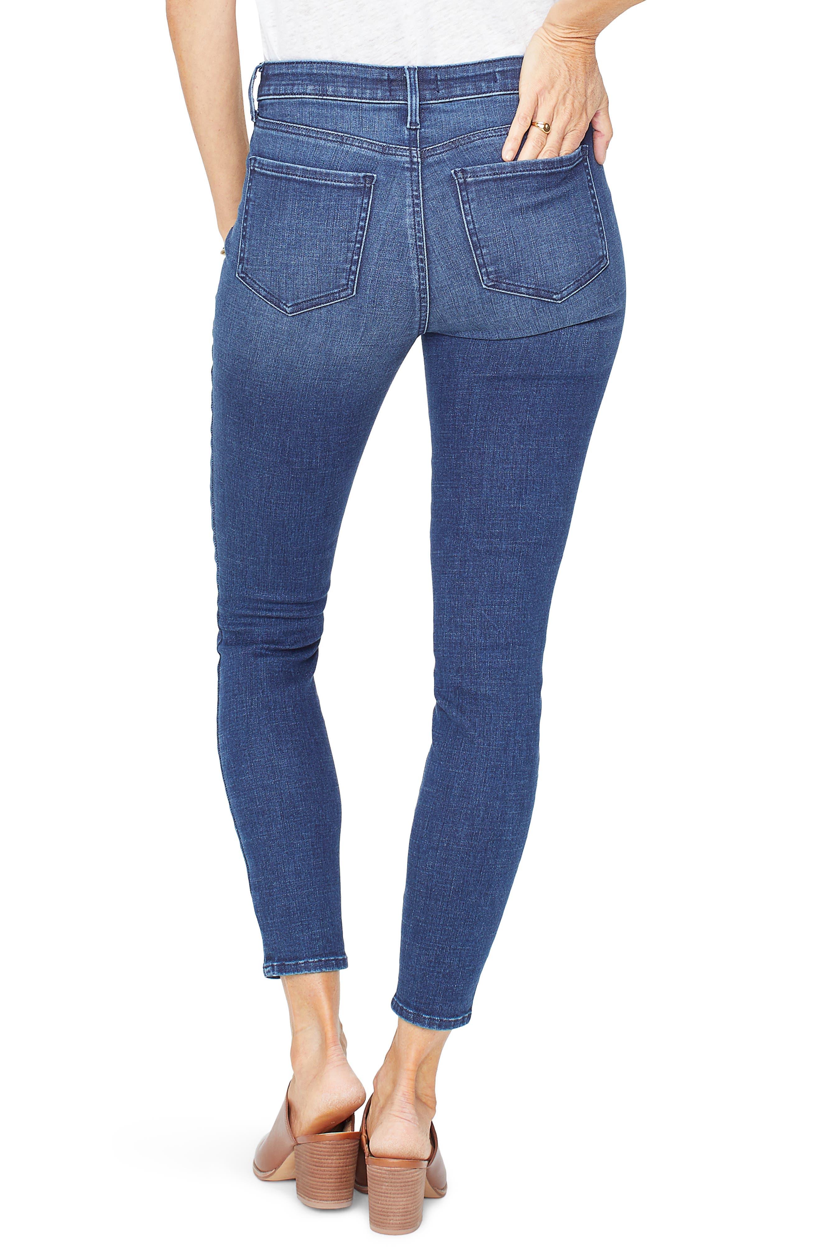 NYDJ, Ami Ankle Skinny Jeans, Alternate thumbnail 2, color, REGO