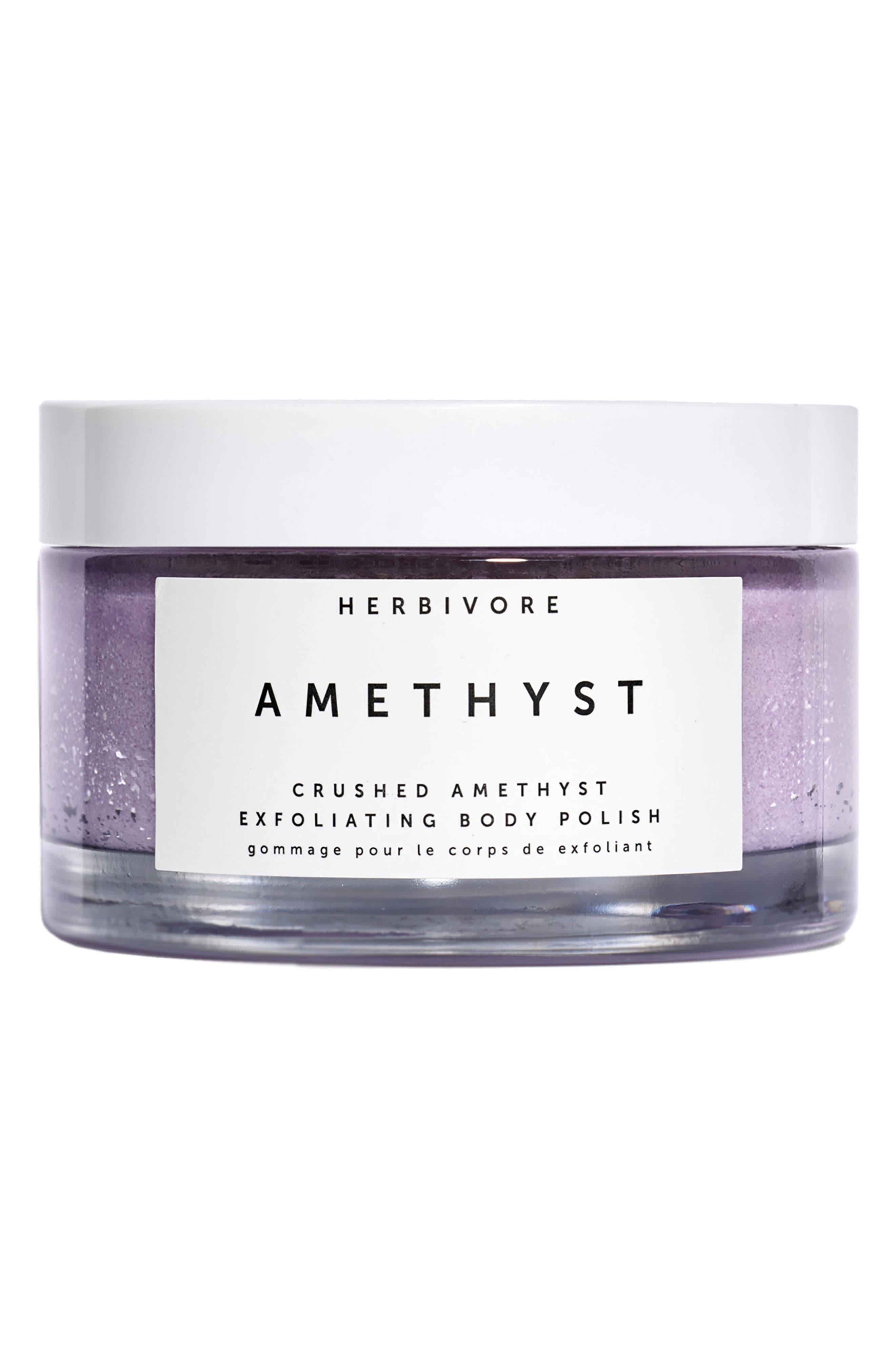 HERBIVORE BOTANICALS, Amethyst Exfoliating Body Polish, Main thumbnail 1, color, NO COLOR