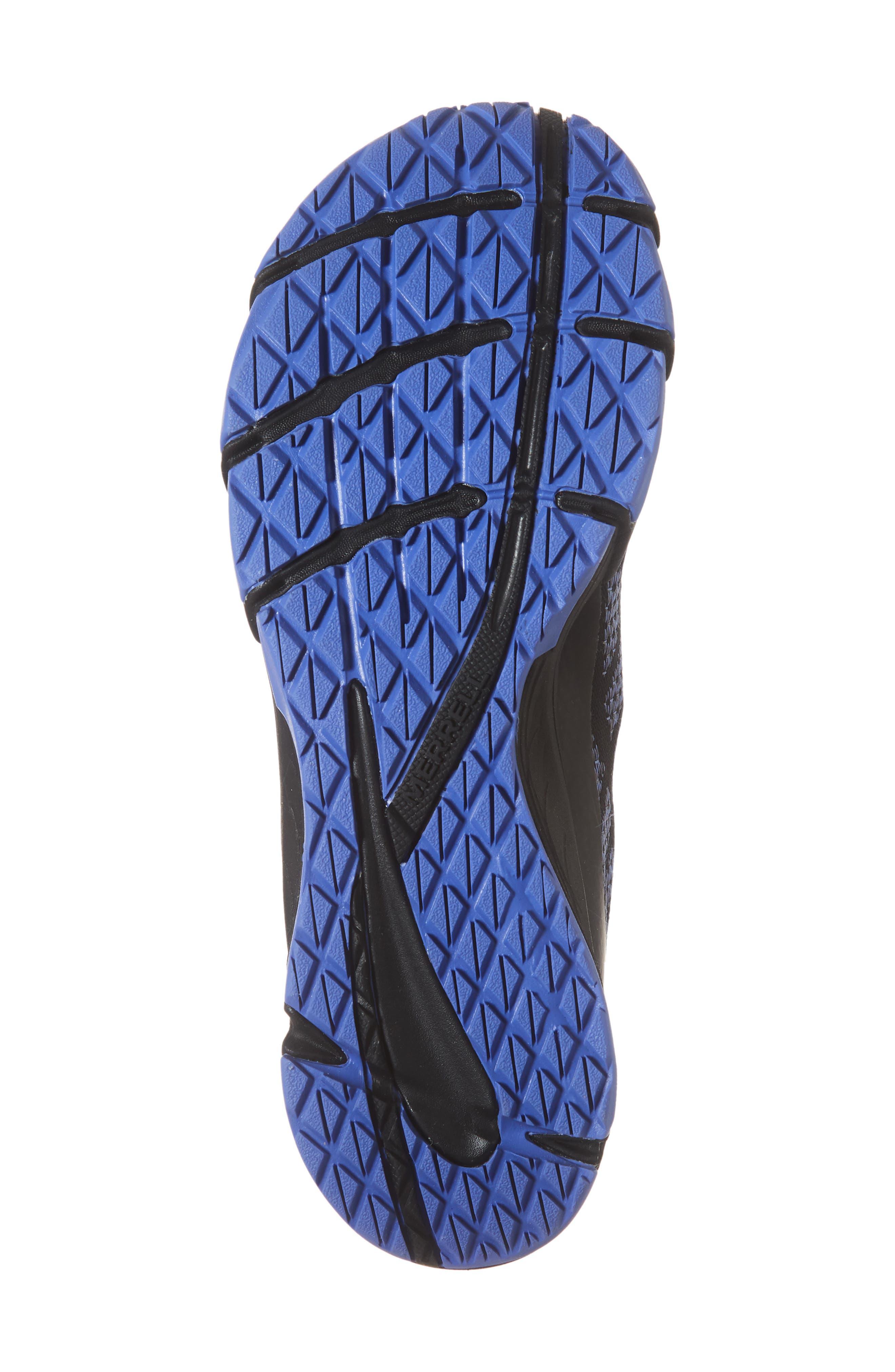 MERRELL, Bare Access Flex Shield Lace-Up Sneaker, Alternate thumbnail 6, color, 001