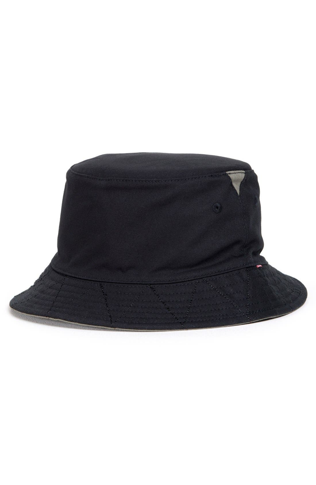 HERSCHEL SUPPLY CO., 'Lake' Bucket Hat, Main thumbnail 1, color, 009