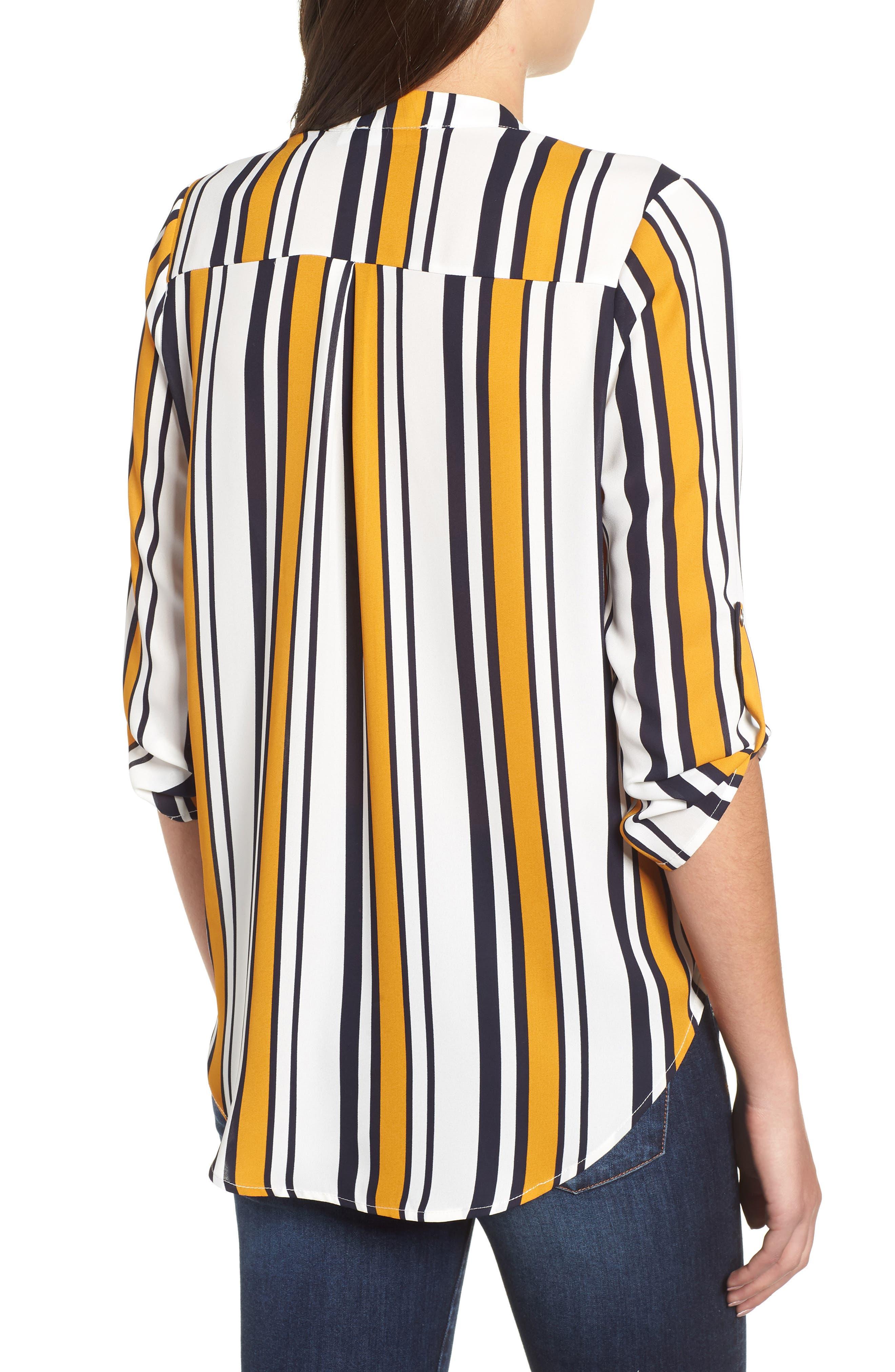 ---, Roll Tab Sleeve Woven Shirt, Alternate thumbnail 2, color, 101