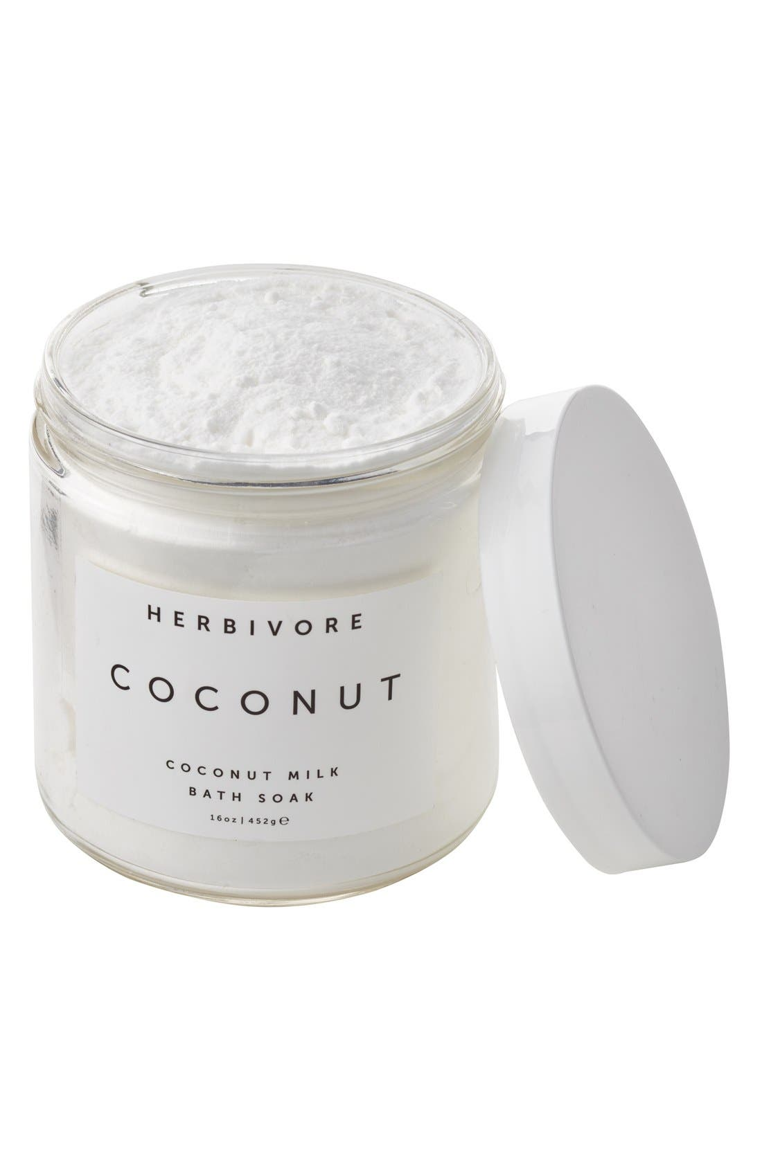 HERBIVORE BOTANICALS, Coconut Soak, Alternate thumbnail 6, color, NO COLOR