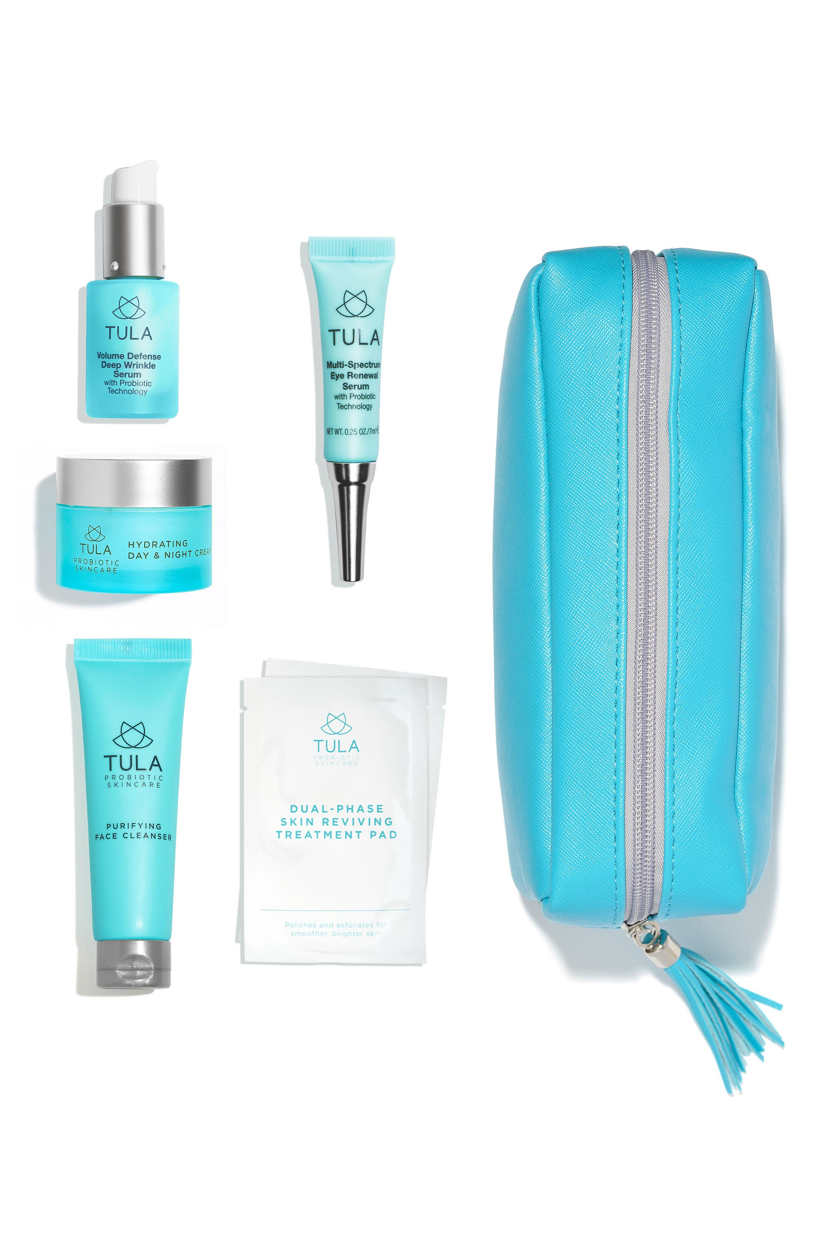 TULA PROBIOTIC SKINCARE Anti-Aging Discovery Kit, Main, color, NO COLOR