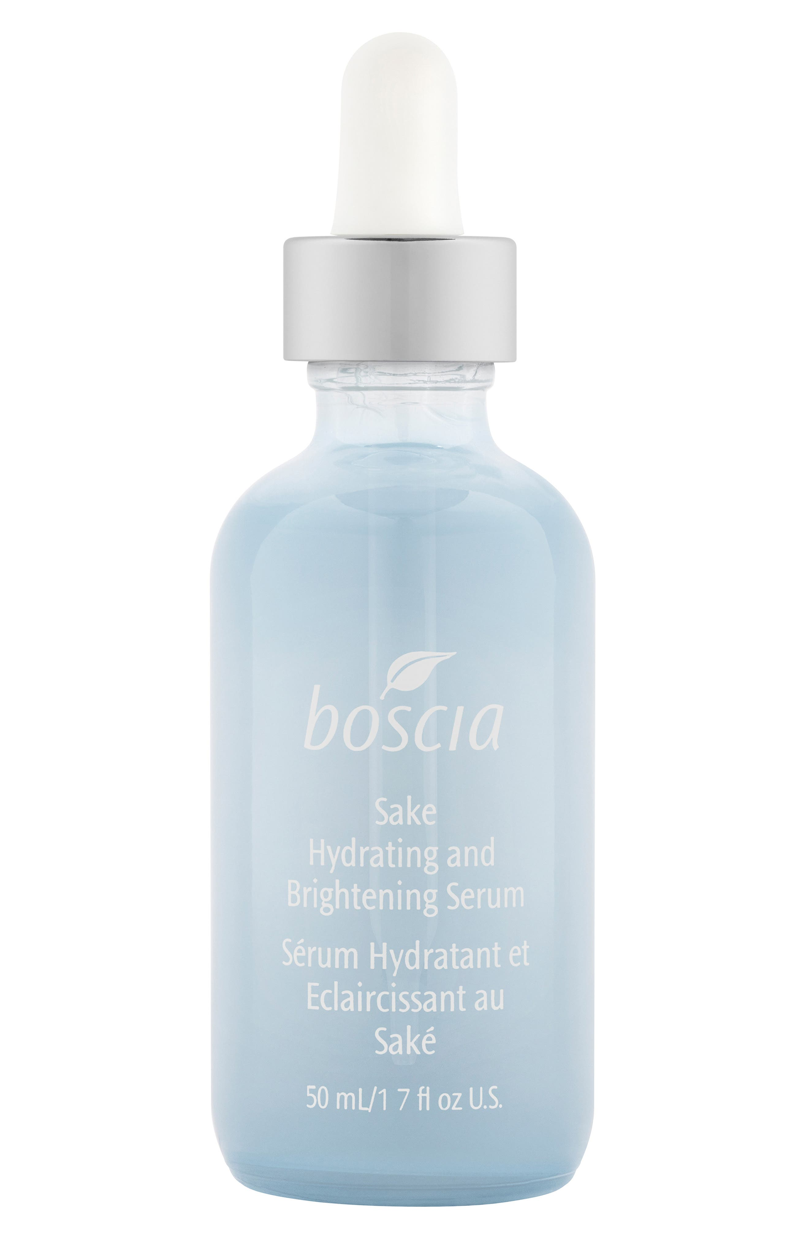 BOSCIA, Sake Hydrating and Brightening Serum, Main thumbnail 1, color, NO COLOR