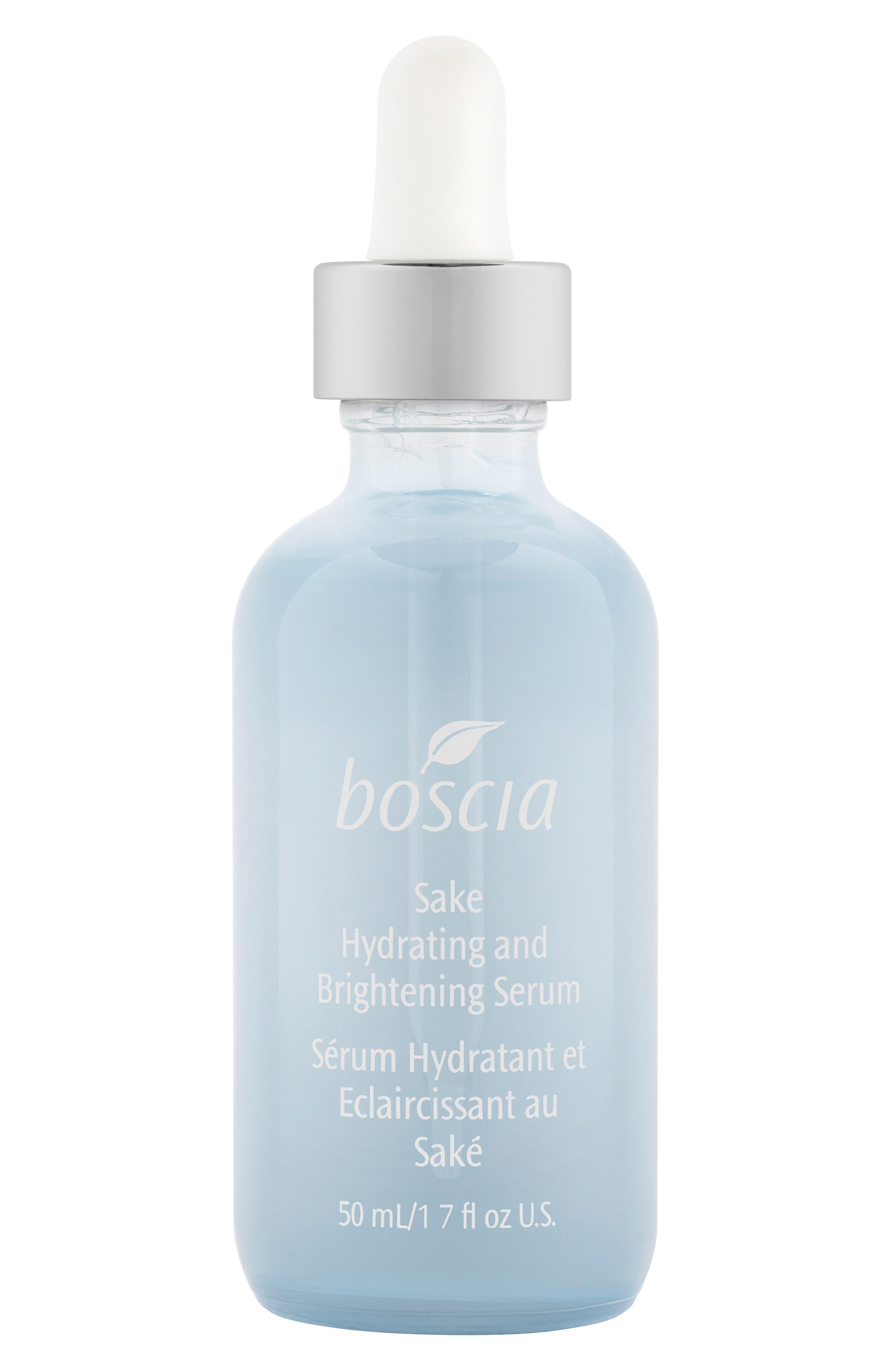 BOSCIA Sake Hydrating and Brightening Serum, Main, color, NO COLOR