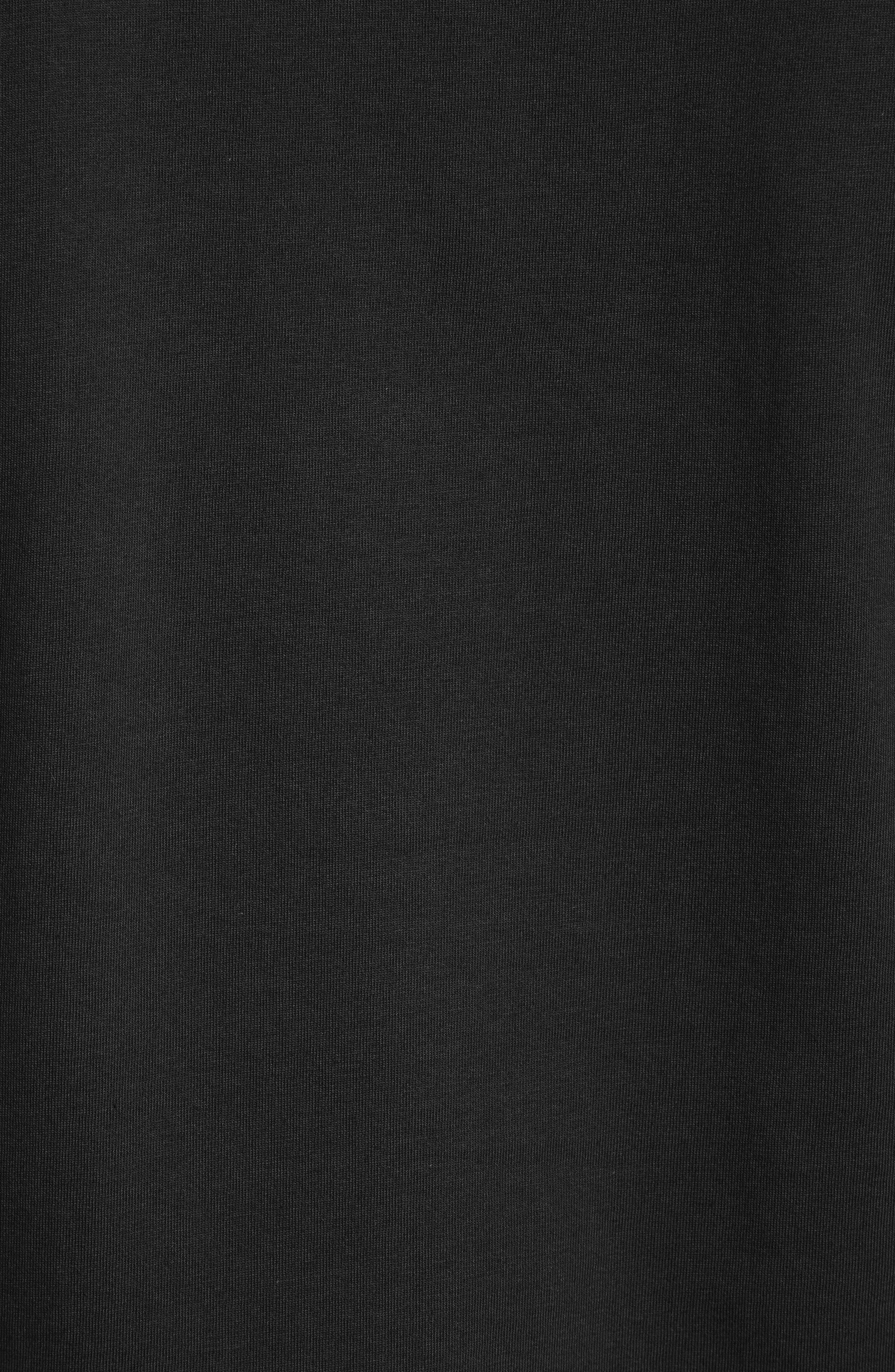 CARHARTT WORK IN PROGRESS, Logo Pocket T-Shirt, Alternate thumbnail 5, color, BLACK