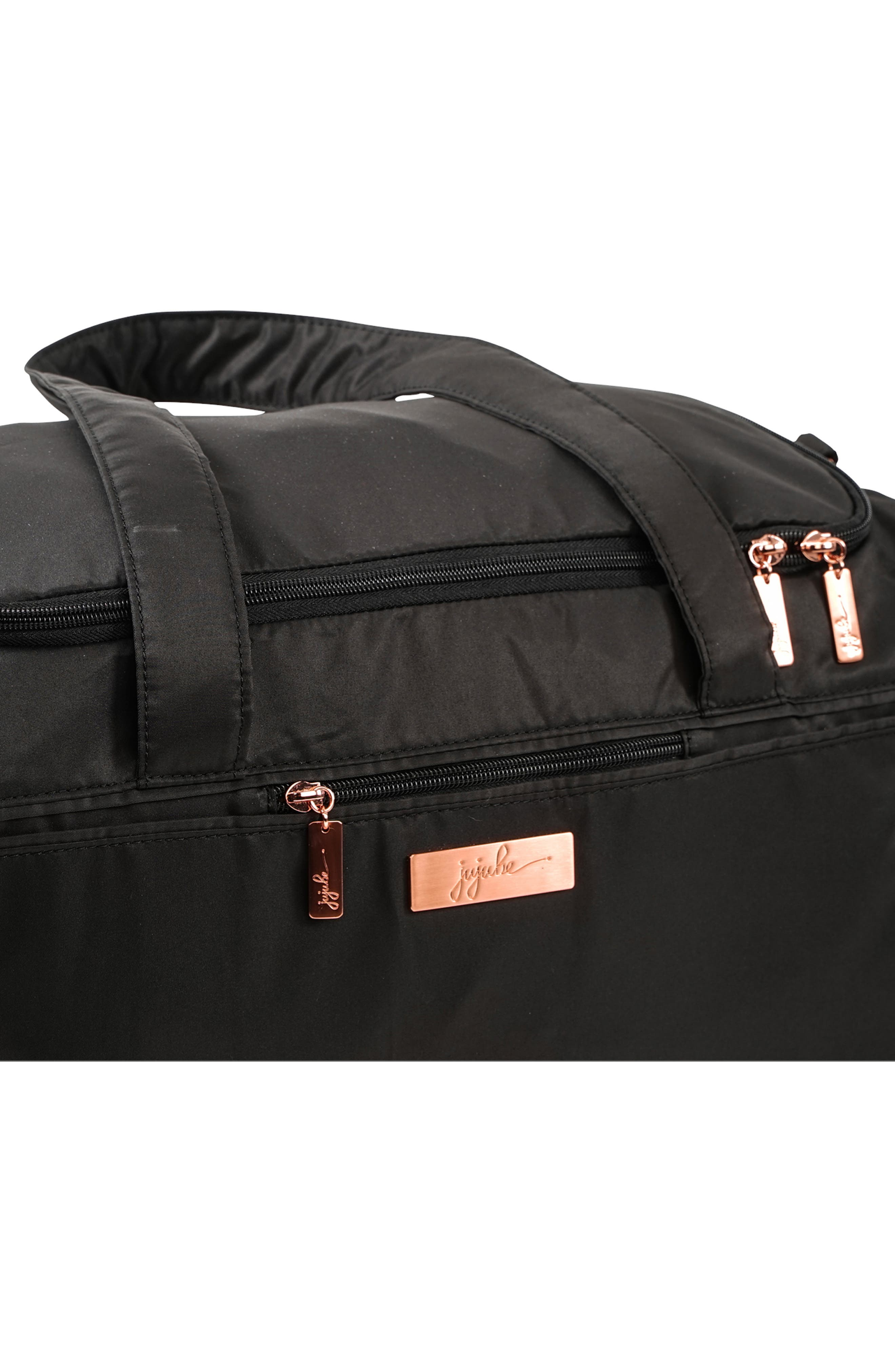 JU-JU-BE, Rose Starlet Travel Diaper Bag, Alternate thumbnail 2, color, KNIGHT ROSE