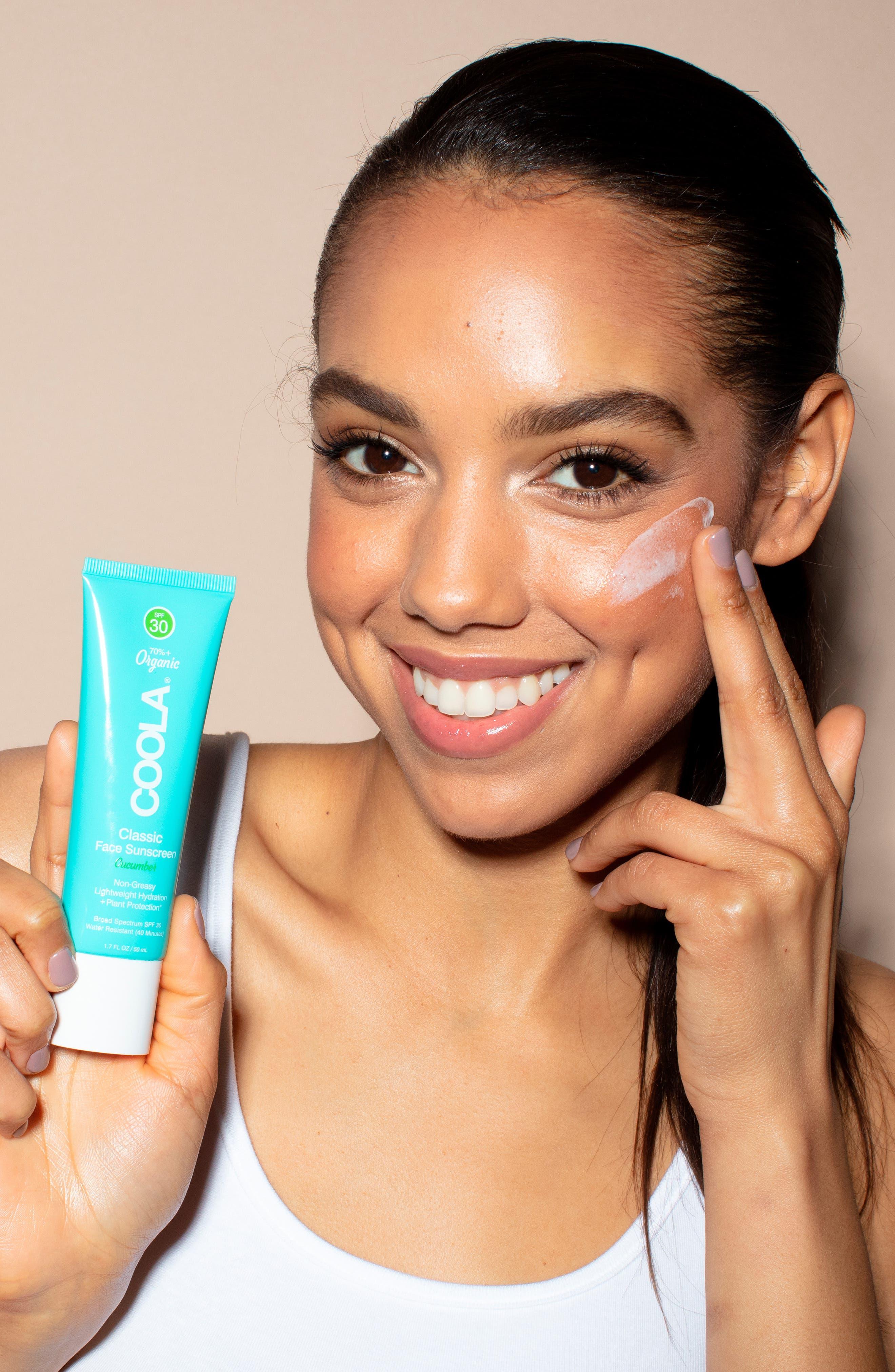 COOLA SUNCARE, COOLA<sup>®</sup> Suncare Face Classic Sunscreen SPF 30, Alternate thumbnail 2, color, CUCUMBER