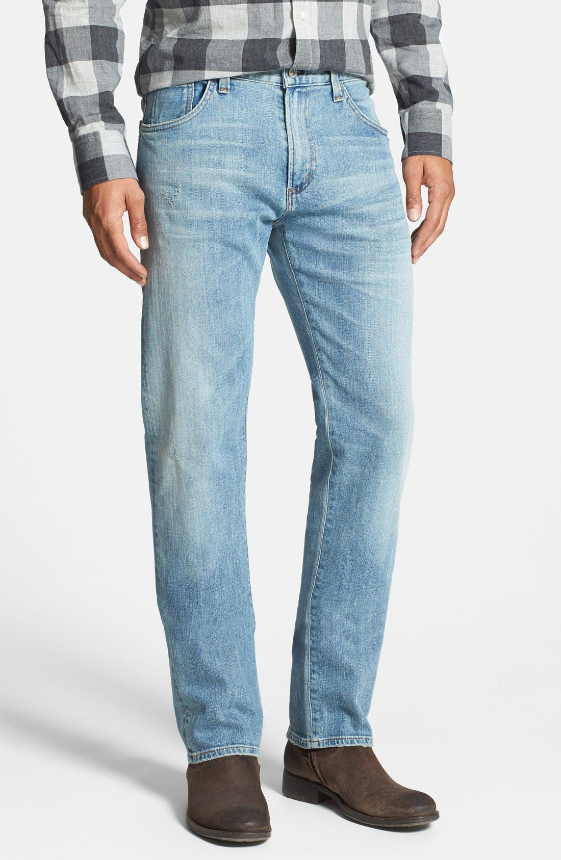 CITIZENS OF HUMANITY, 'Core' Slim Straight Leg Jeans, Main thumbnail 1, color, 458