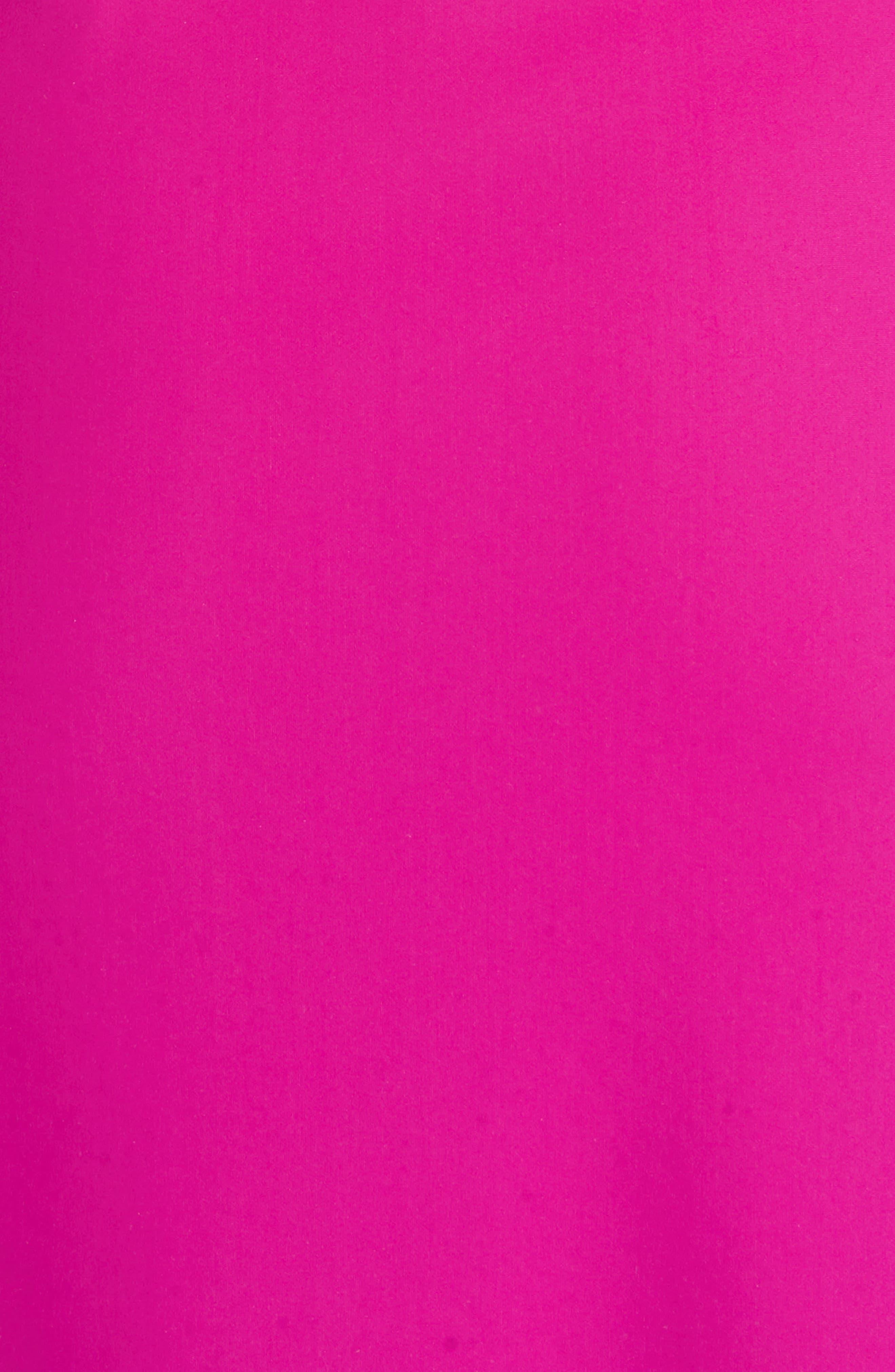 CHIARA BONI LA PETITE ROBE, Divis Off the Shoulder Column Gown, Alternate thumbnail 6, color, CYCLAMEN