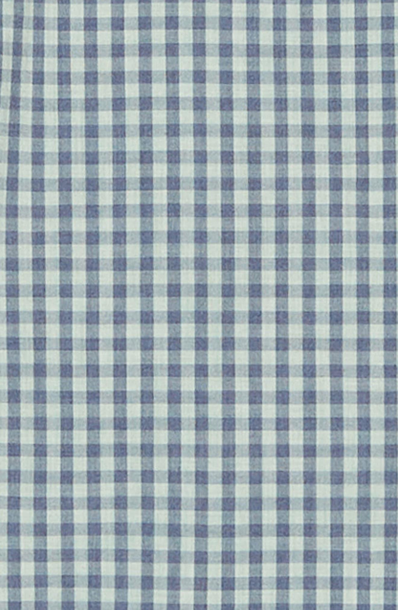 VINEYARD VINES, Gingham Check Sport Shirt, Alternate thumbnail 6, color, 362