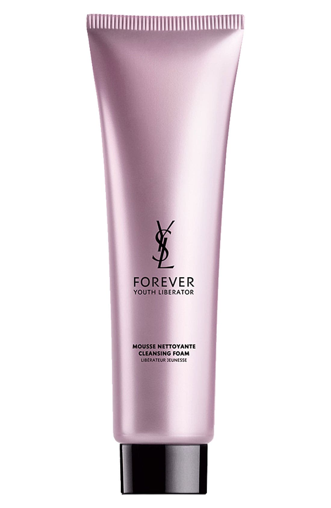 YVES SAINT LAURENT, Forever Youth Liberator Cleansing Foam, Main thumbnail 1, color, NO COLOR