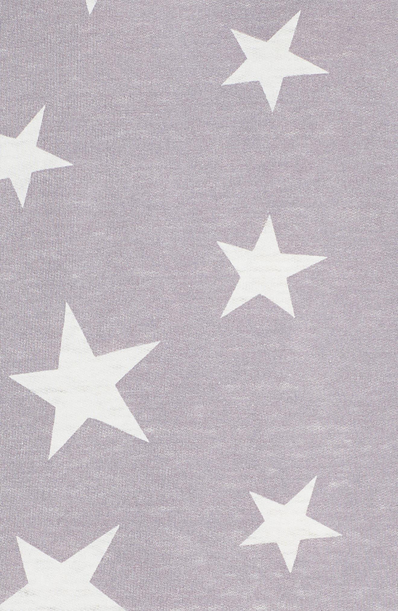 HONEYDEW INTIMATES, Burnout Lounge Sweatshirt, Alternate thumbnail 5, color, 031