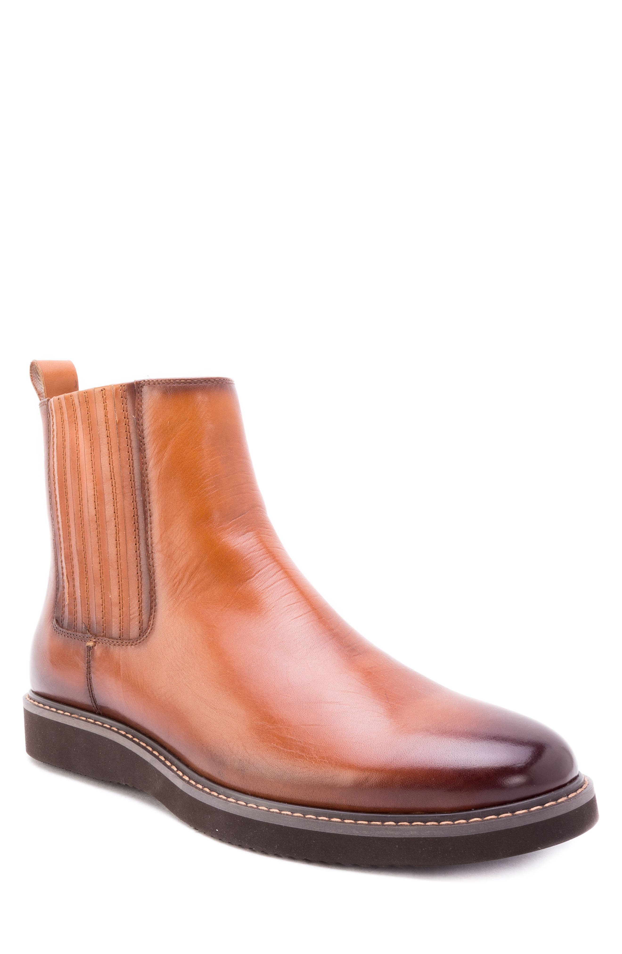 Zanzara Warlow Chelsea Boot- Brown