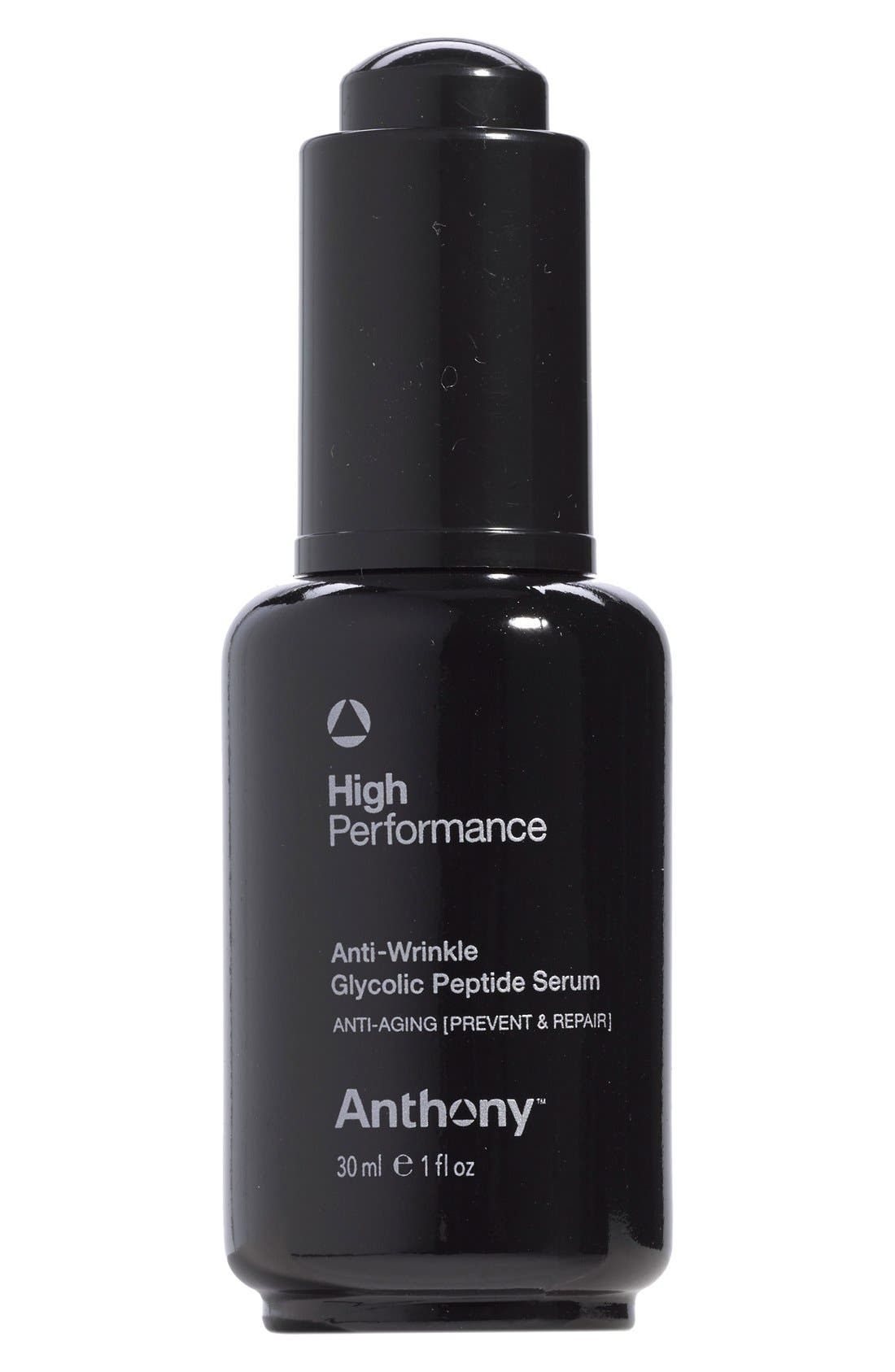 ANTHONY,  High-Performance Anti-Wrinkle Glycolic Peptide Serum, Main thumbnail 1, color, NO COLOR