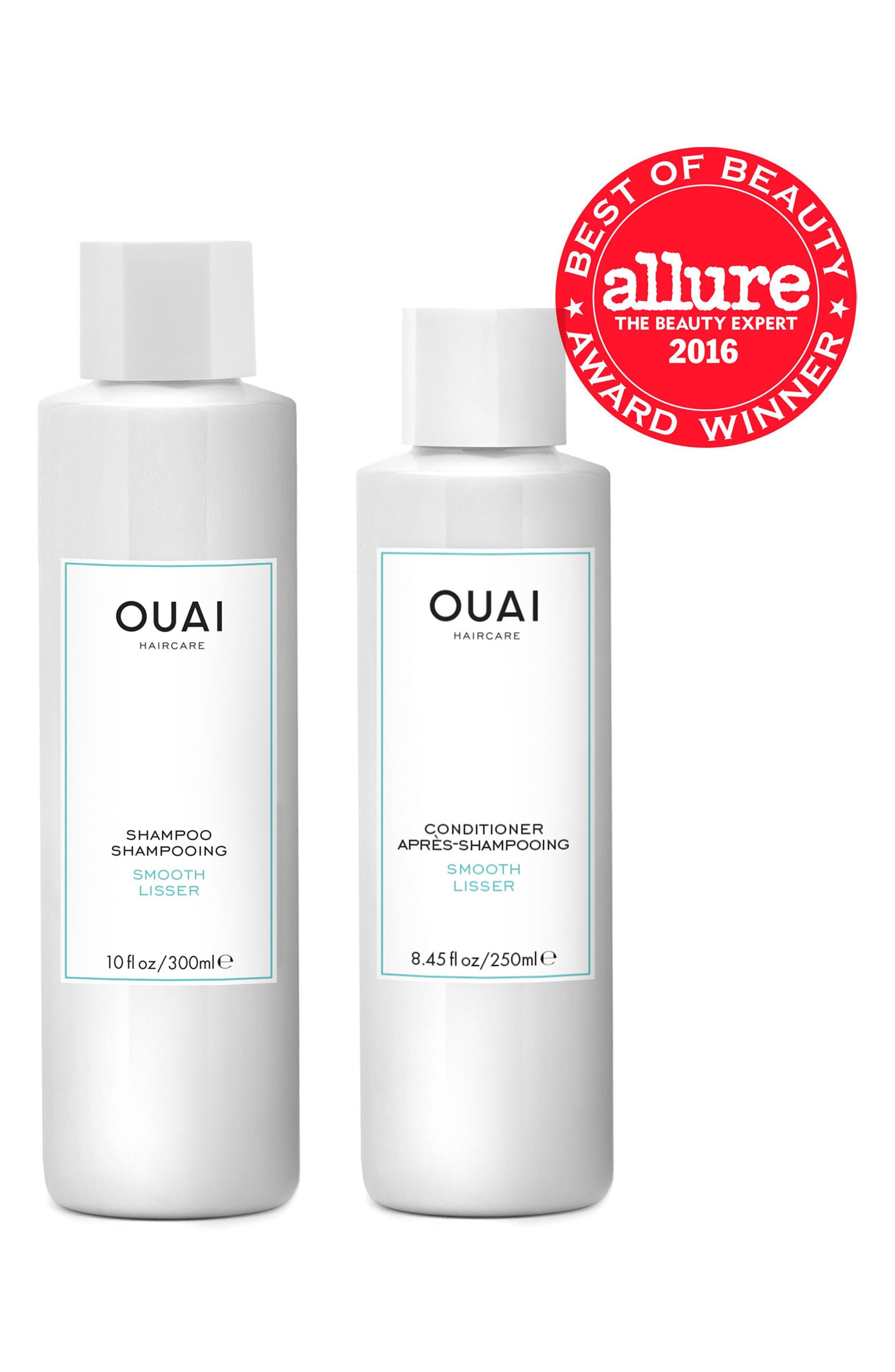 OUAI, Smooth Shampoo, Alternate thumbnail 2, color, 000