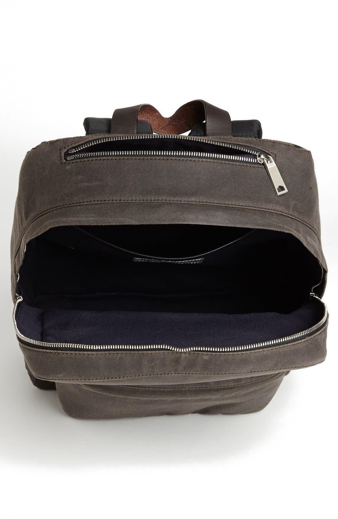 JACK SPADE, 'Waxwear' Backpack, Alternate thumbnail 3, color, 215