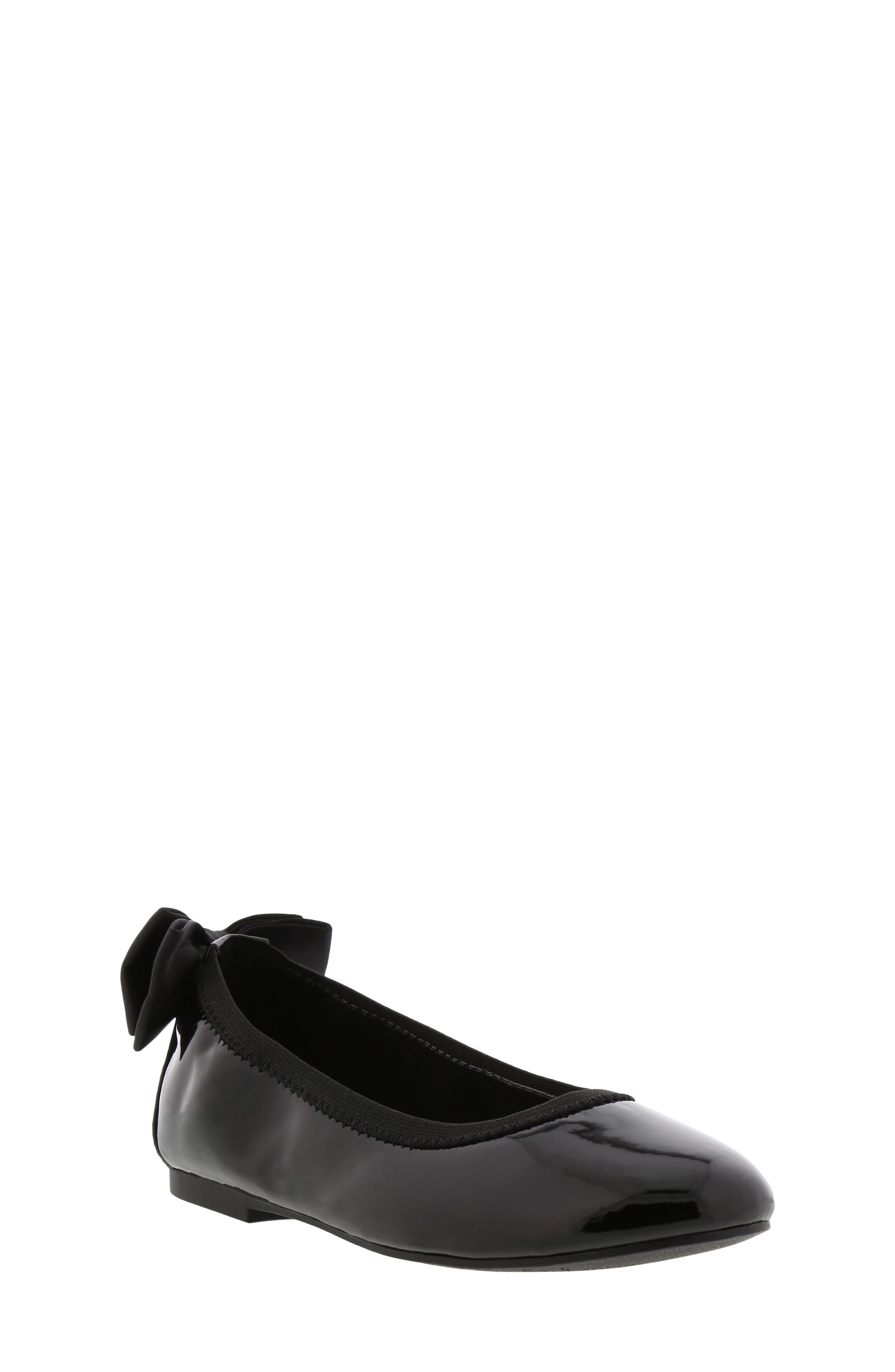 SAM EDELMAN, Felicia Esmerelda Ballet Flat, Main thumbnail 1, color, BLACK PATENT