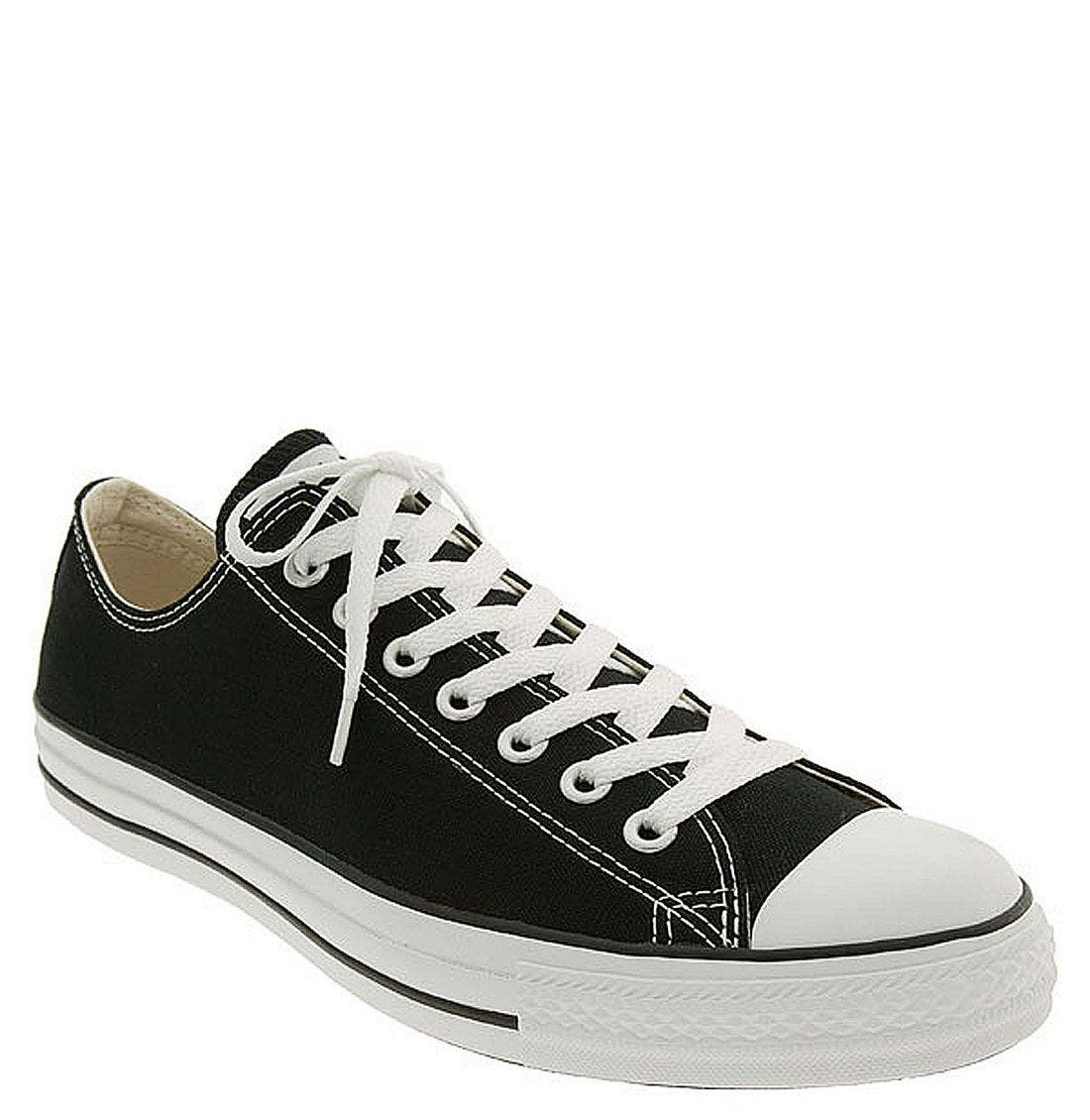 CONVERSE, Chuck Taylor<sup>®</sup> Low Top Sneaker, Main thumbnail 1, color, 100