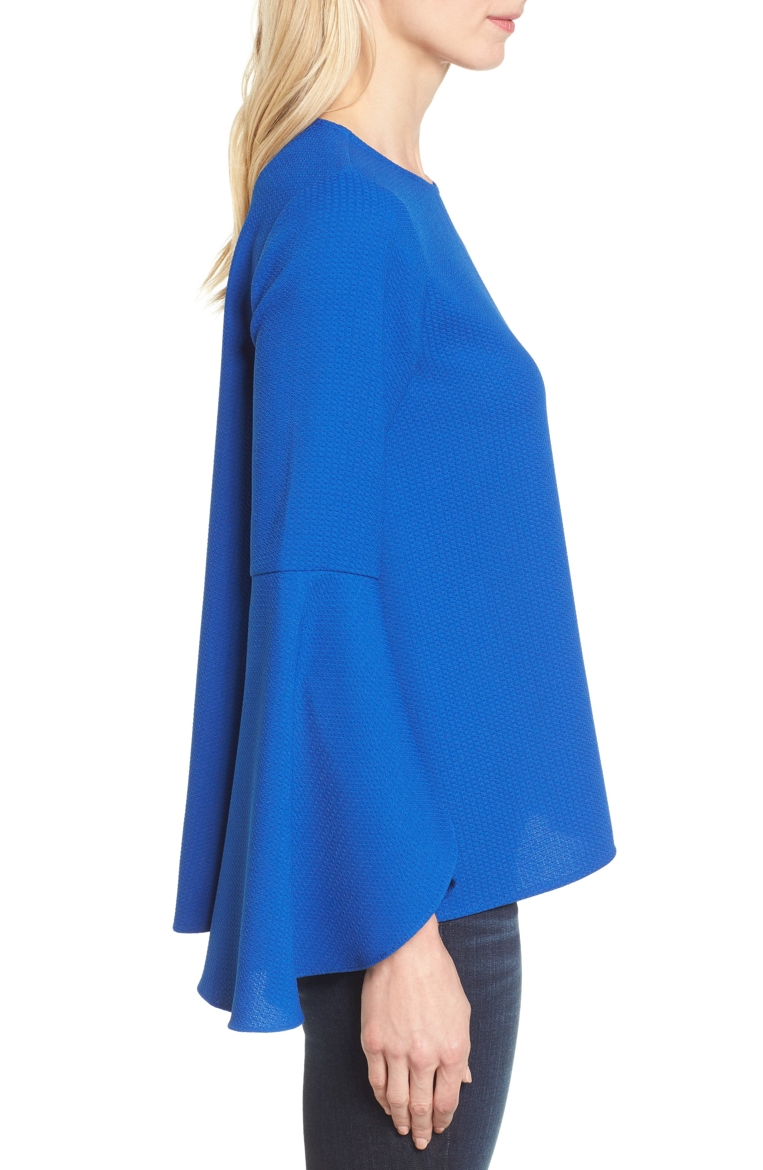 HALOGEN<SUP>®</SUP>, Bell Sleeve Top, Alternate thumbnail 3, color, 420