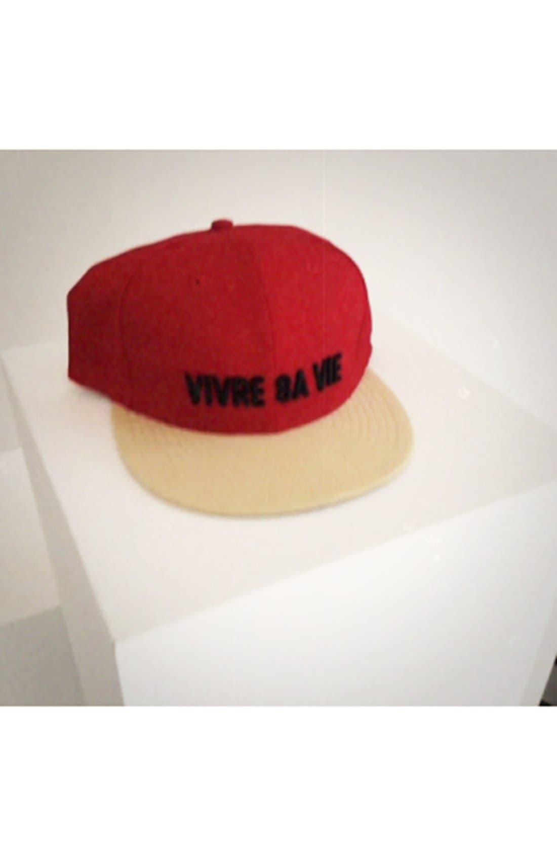 NEW ERA CAP, 'Vivre Sa Vie' Baseball Cap, Alternate thumbnail 2, color, 600