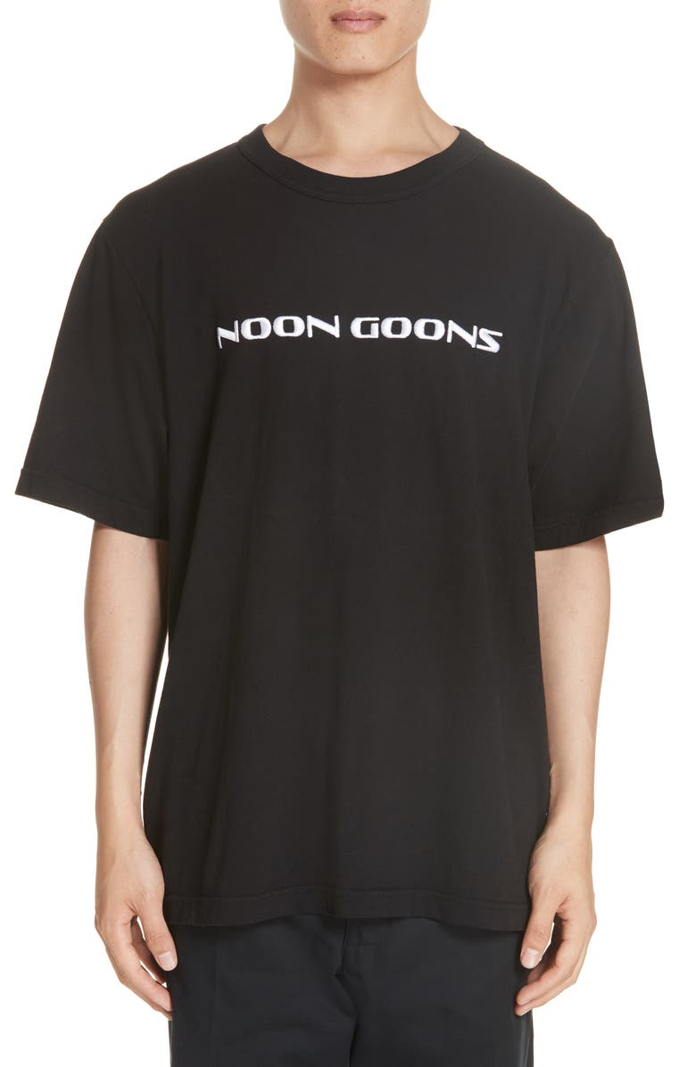 Noon Goons T-shirts EMBROIDERED LOGO T-SHIRT