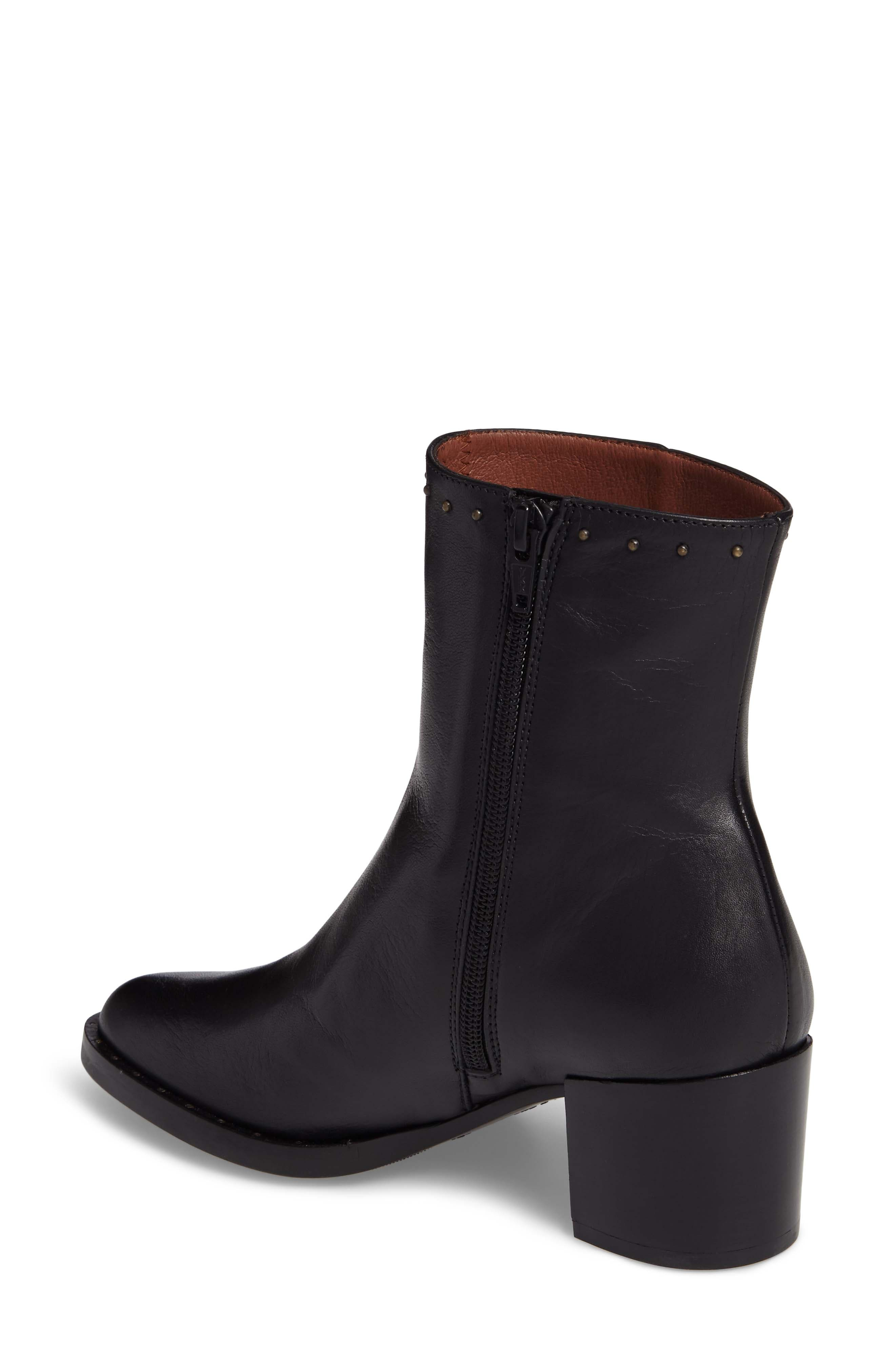 HISPANITAS, Dawn Bootie, Alternate thumbnail 2, color, SOHO BLACK LEATHER