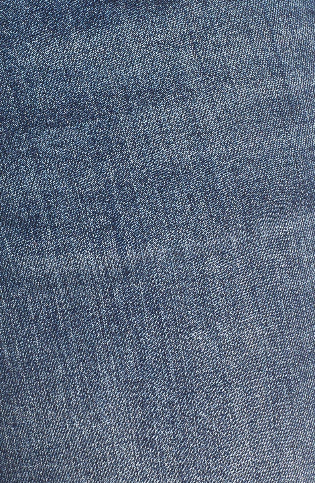 VIGOSS, 'Thompson Tomboy' Ripped Boyfriend Jeans, Alternate thumbnail 2, color, 400