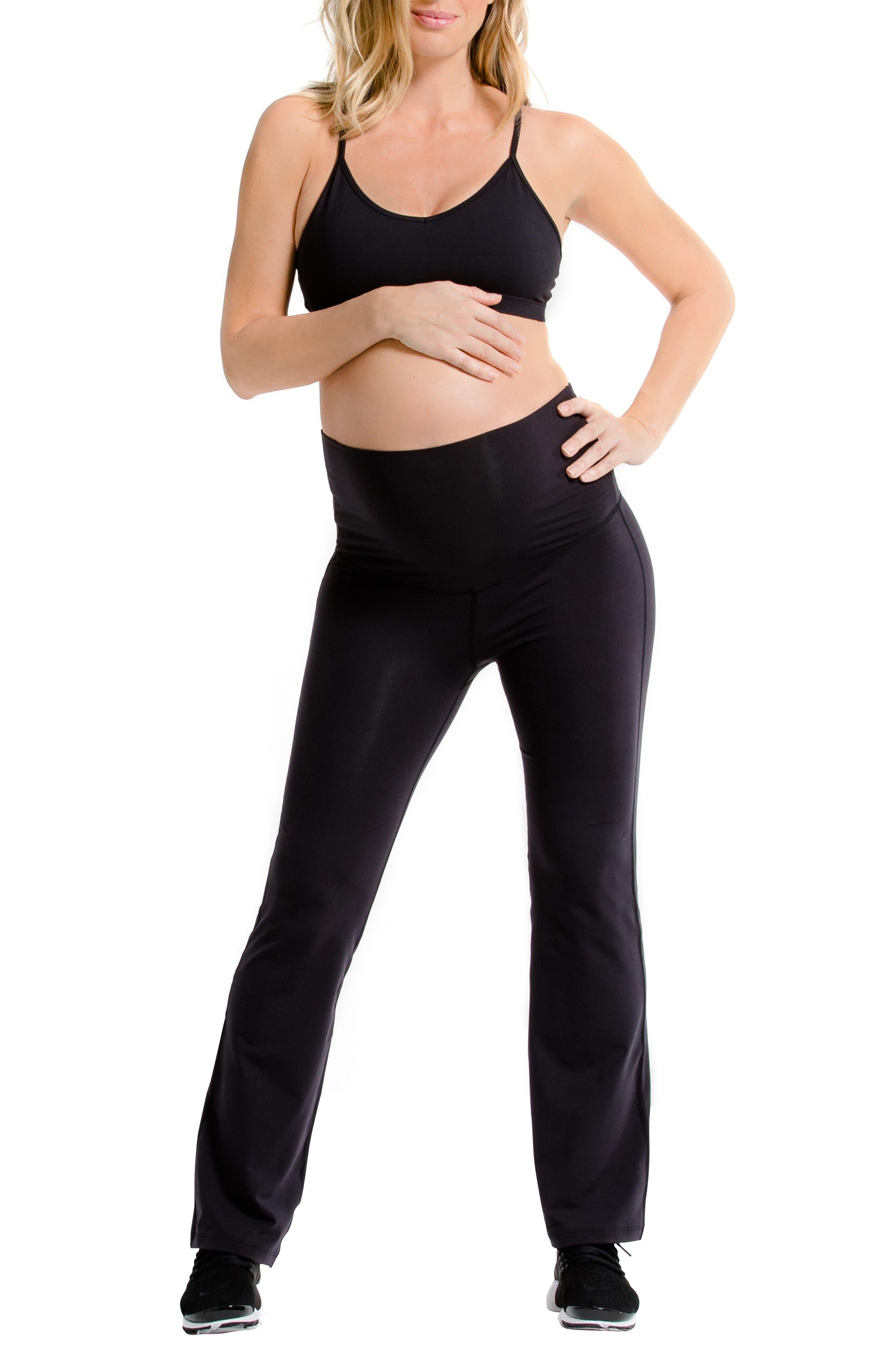 AMARI Wanderlust Maternity Pants, Main, color, BLACK