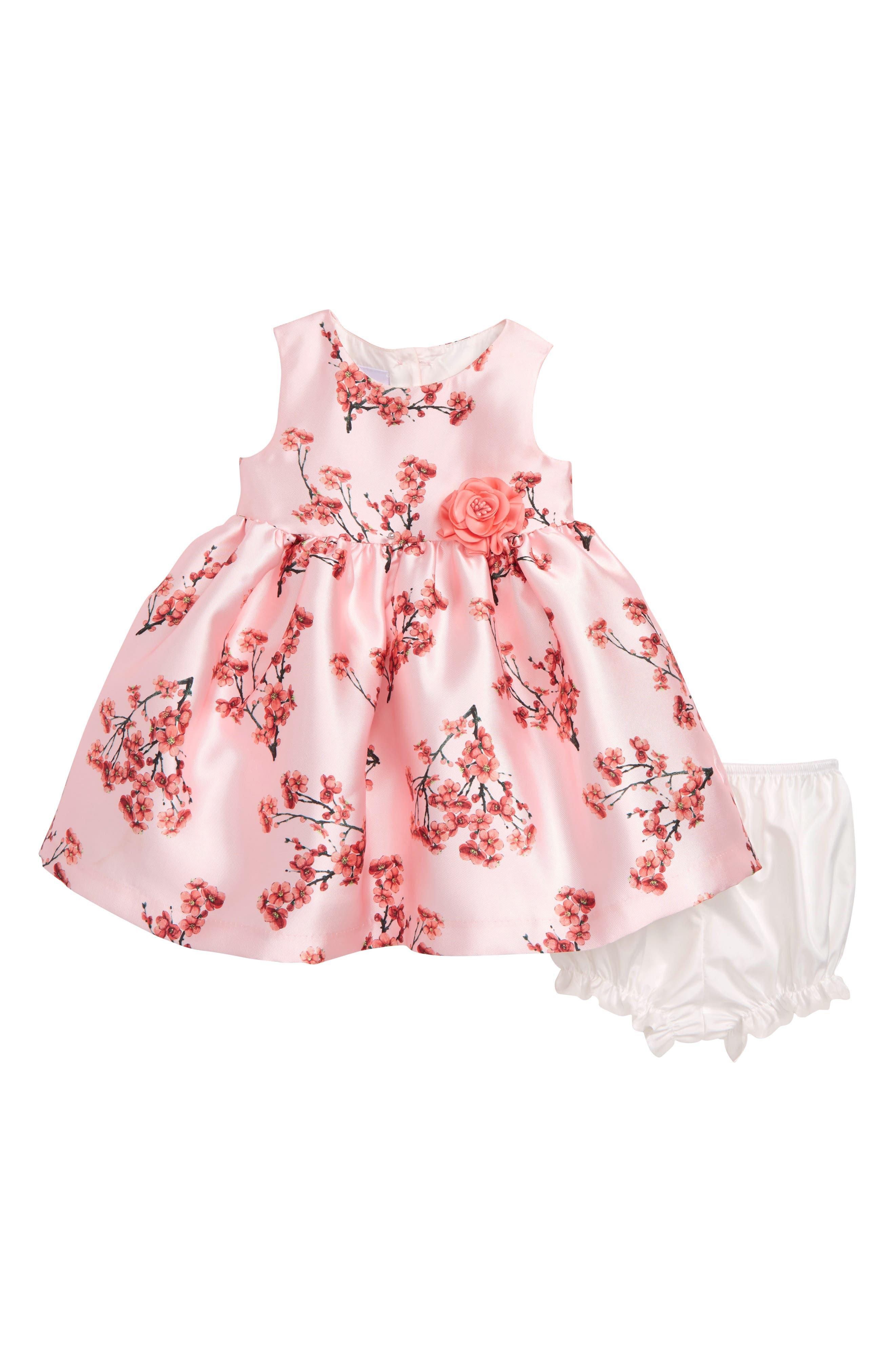 FRAIS Cherry Blossom Dress, Main, color, 650