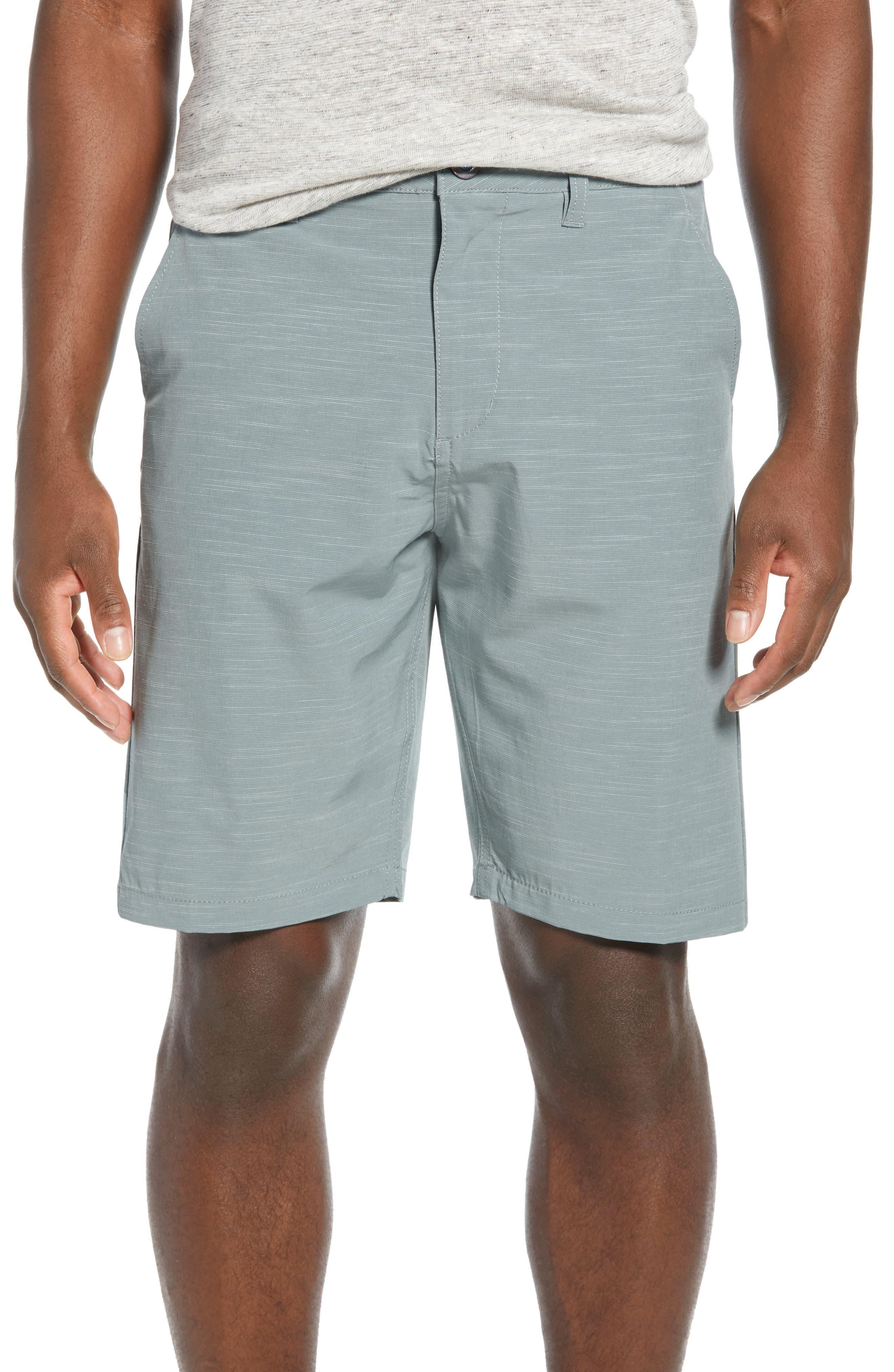 DEVEREUX, Cruiser Hybrid Shorts, Main thumbnail 1, color, SMOKE GREEN