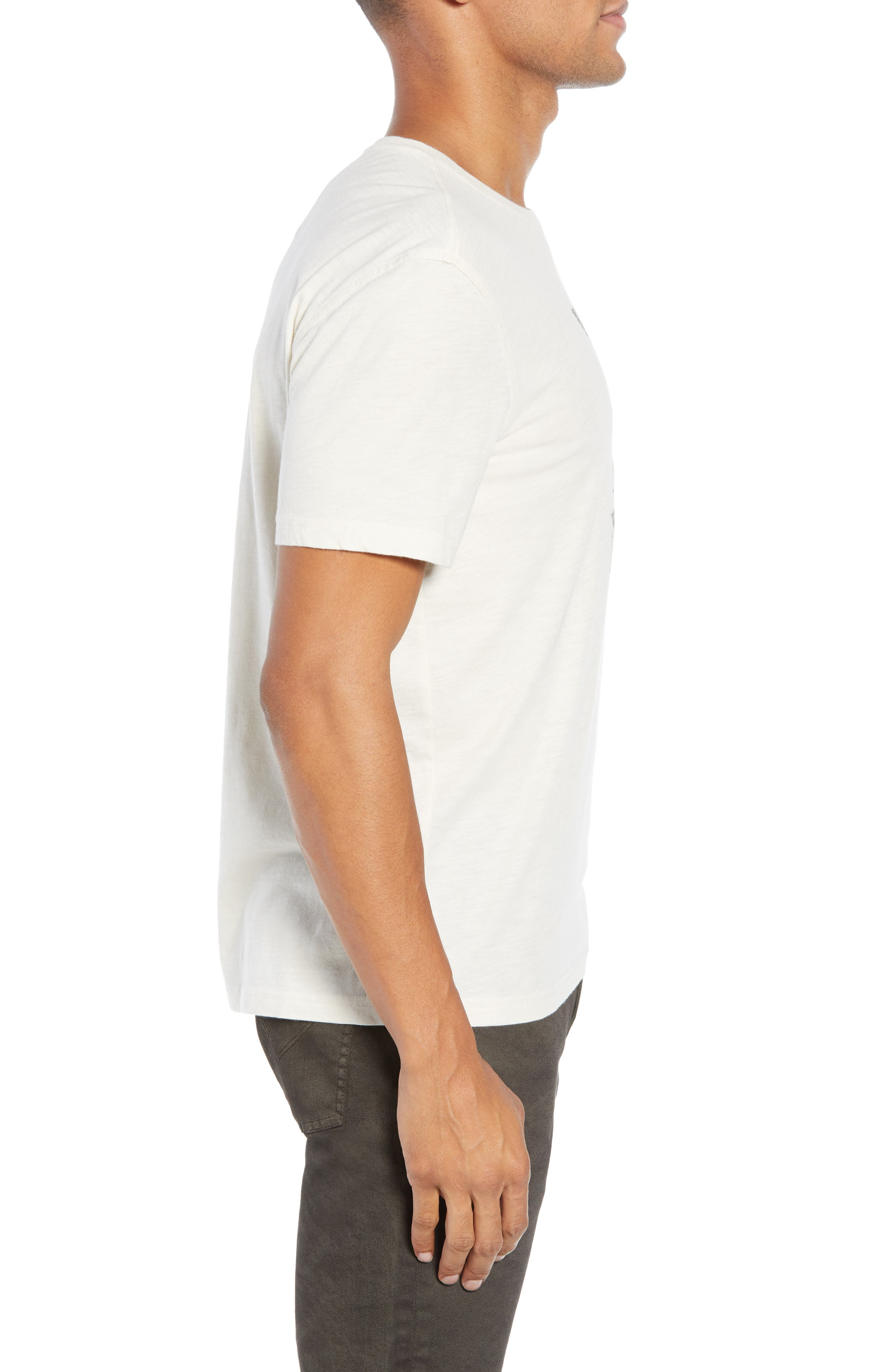 JOHN VARVATOS STAR USA, What the World Needs Now Graphic T-Shirt, Alternate thumbnail 3, color, 107