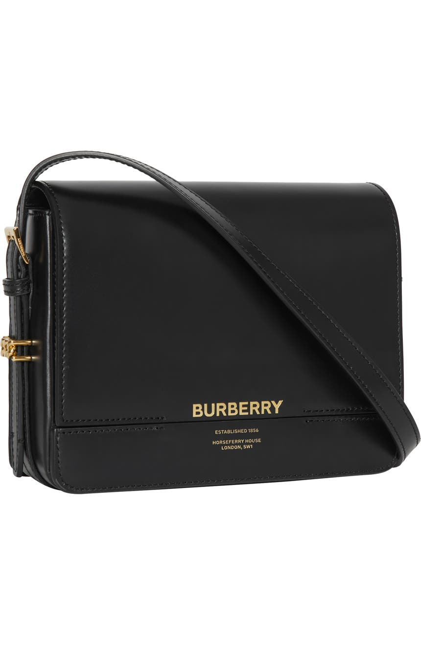585d8f5152 Burberry Small Horseferry Leather Crossbody Bag   Nordstrom