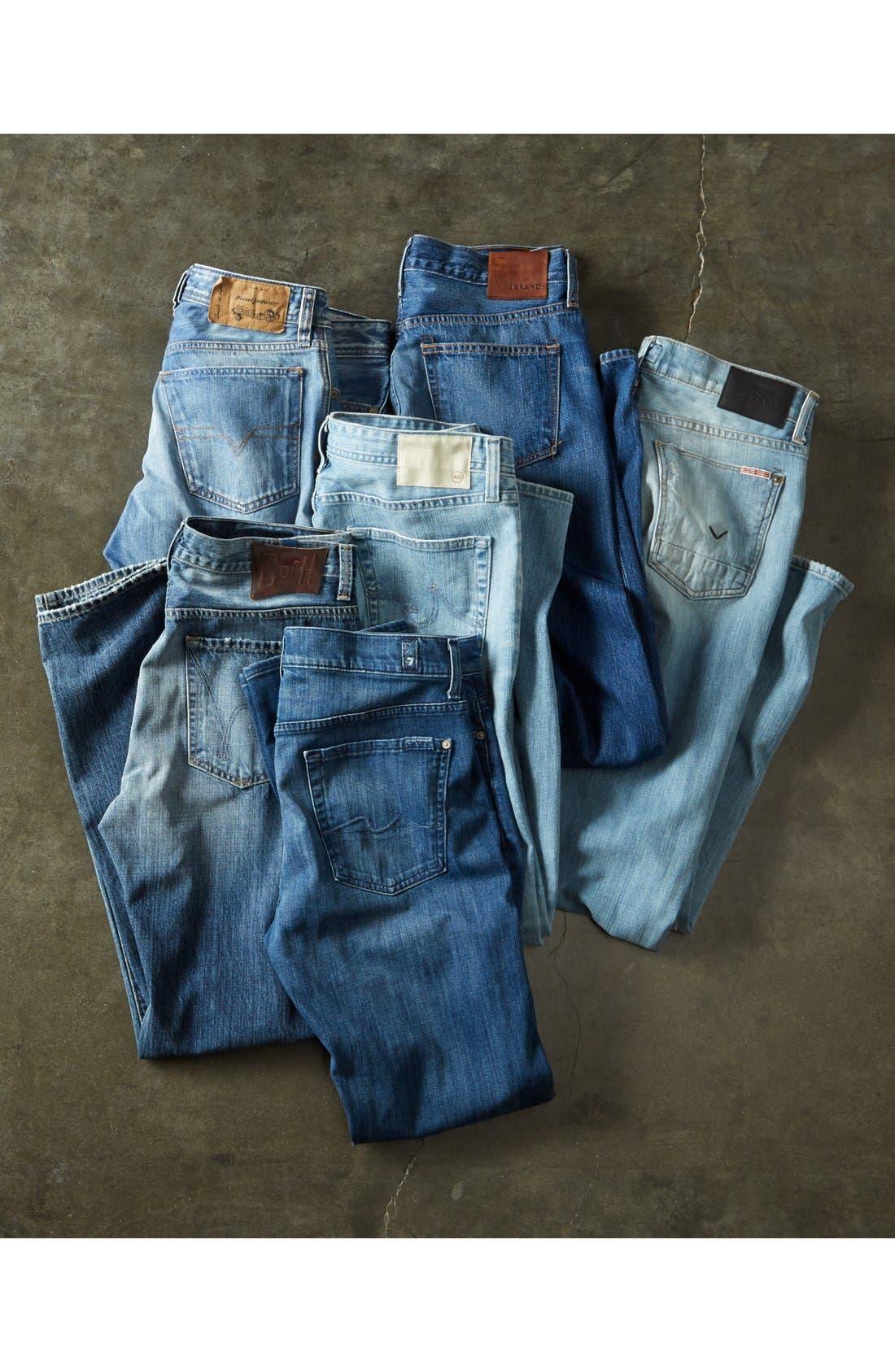AG, 'Dylan' Slim Skinny Leg Jeans, Alternate thumbnail 6, color, 454