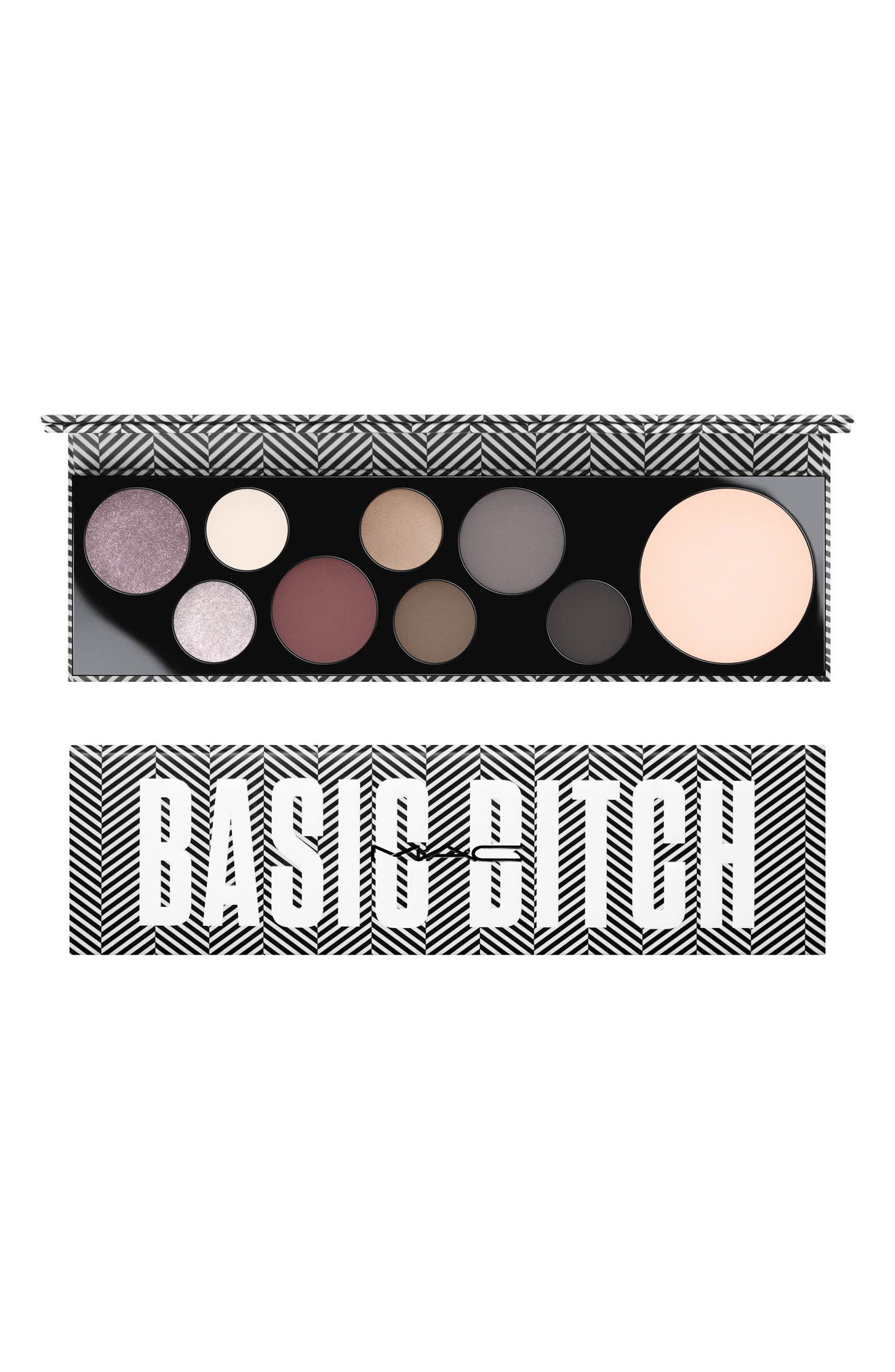 MAC COSMETICS, MAC Girls Basic Bitch Palette, Alternate thumbnail 7, color, 020