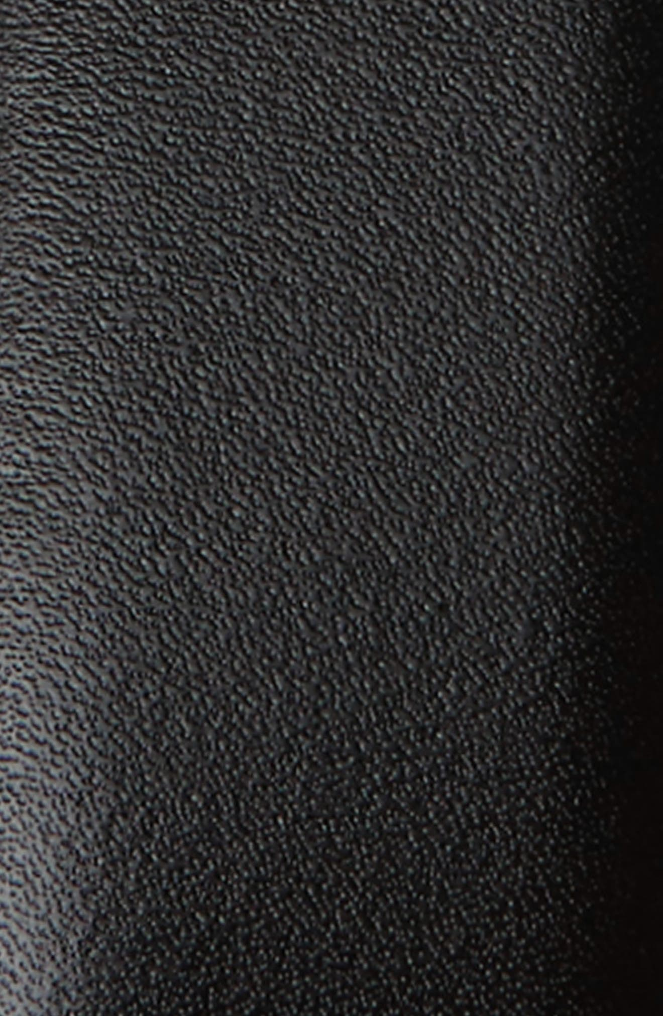 MONTBLANC, Meisterstück Buckle Reversible Leather Belt, Alternate thumbnail 3, color, BLACK/ BROWN