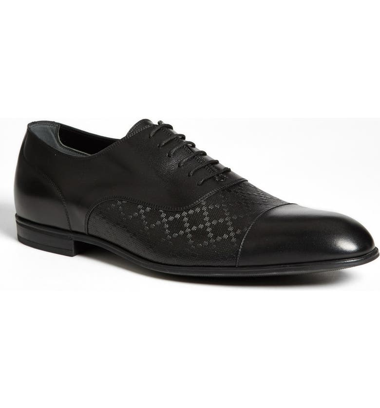 6cff2f933c9 Gucci  Tillman  Diamante Cap Toe Oxford